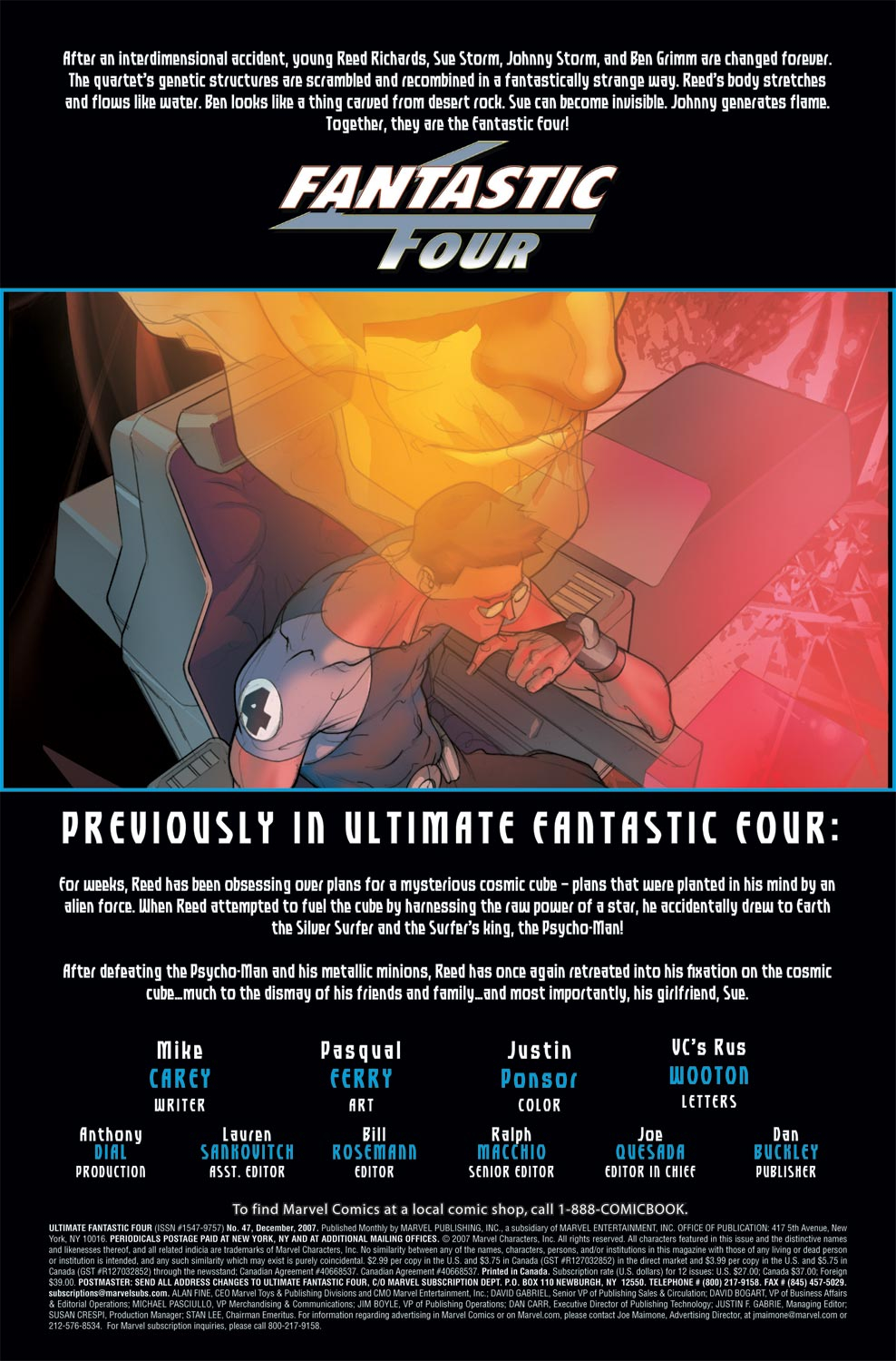 Read online Ultimate Fantastic Four (2004) comic -  Issue #47 - 2