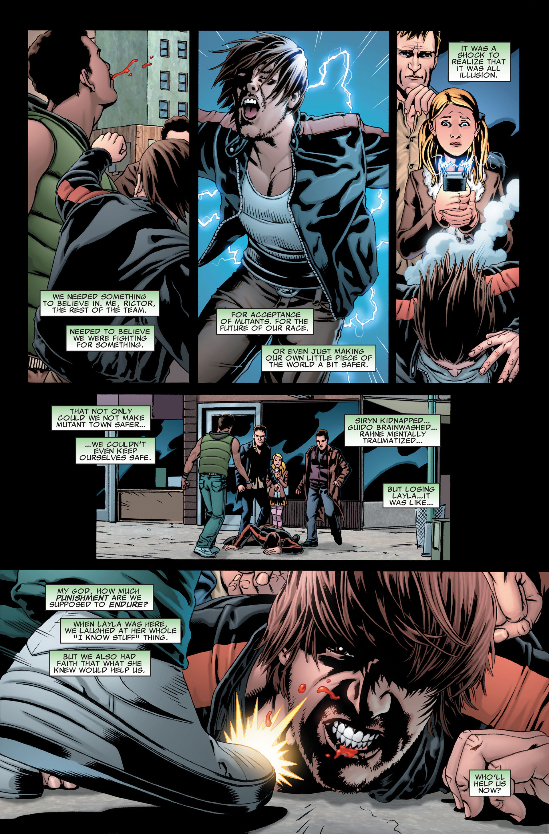 Read online X-Factor (2006) comic -  Issue #28 - 11
