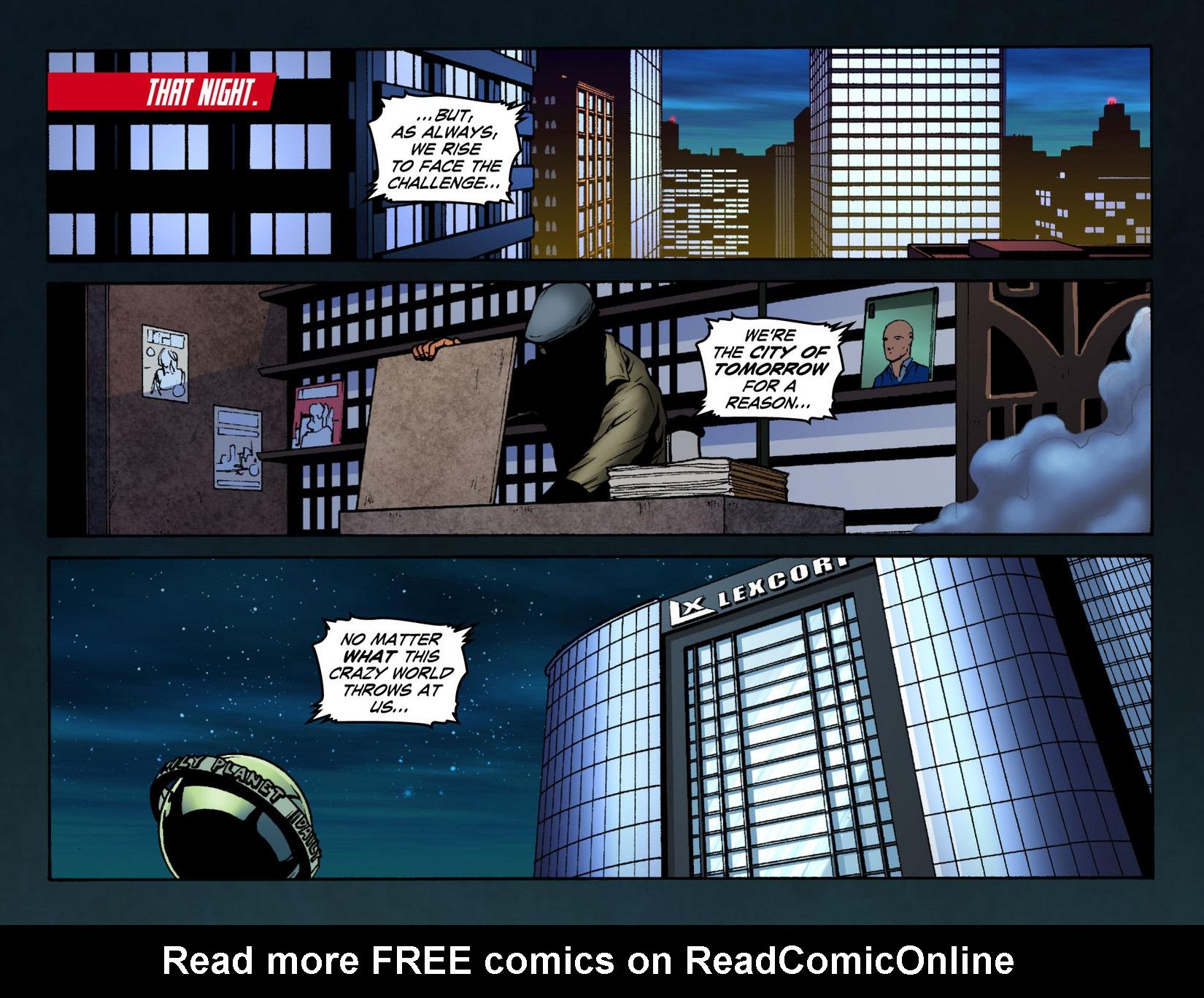 Read online Smallville: Season 11 comic -  Issue #12 - 19