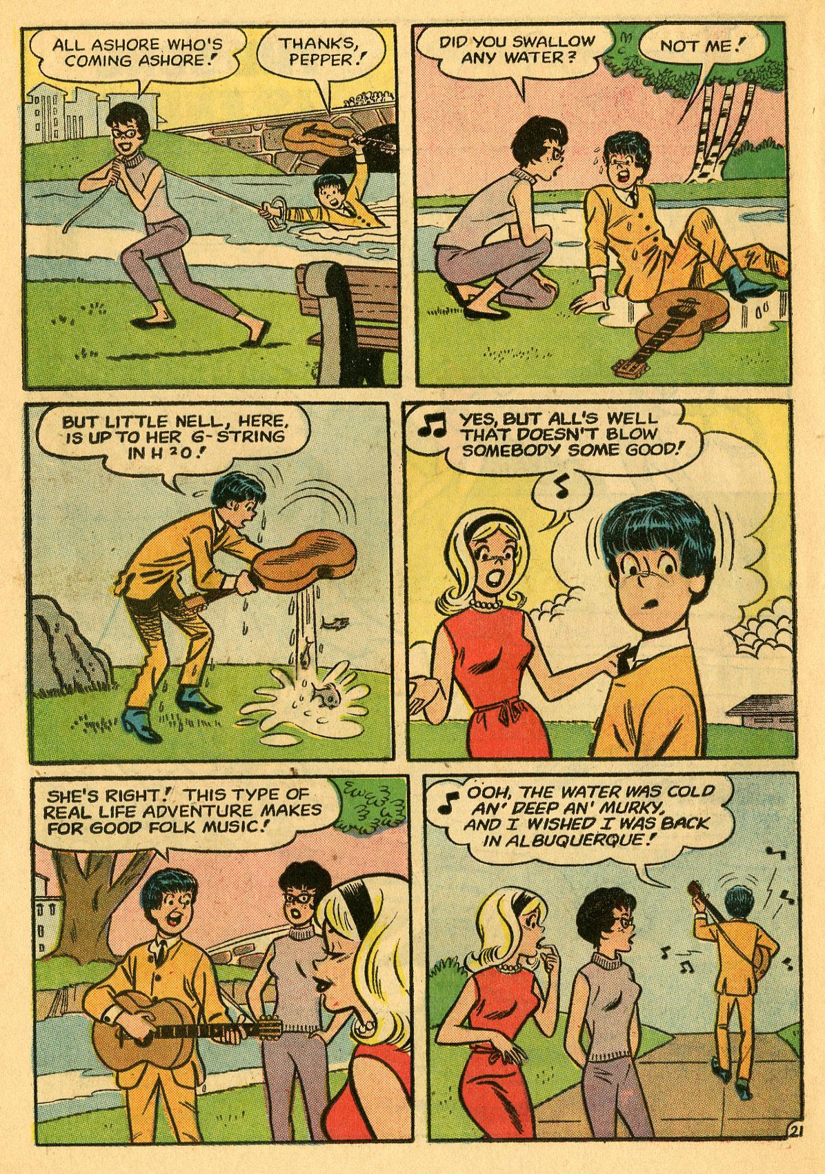 Read online She's Josie comic -  Issue #7 - 30