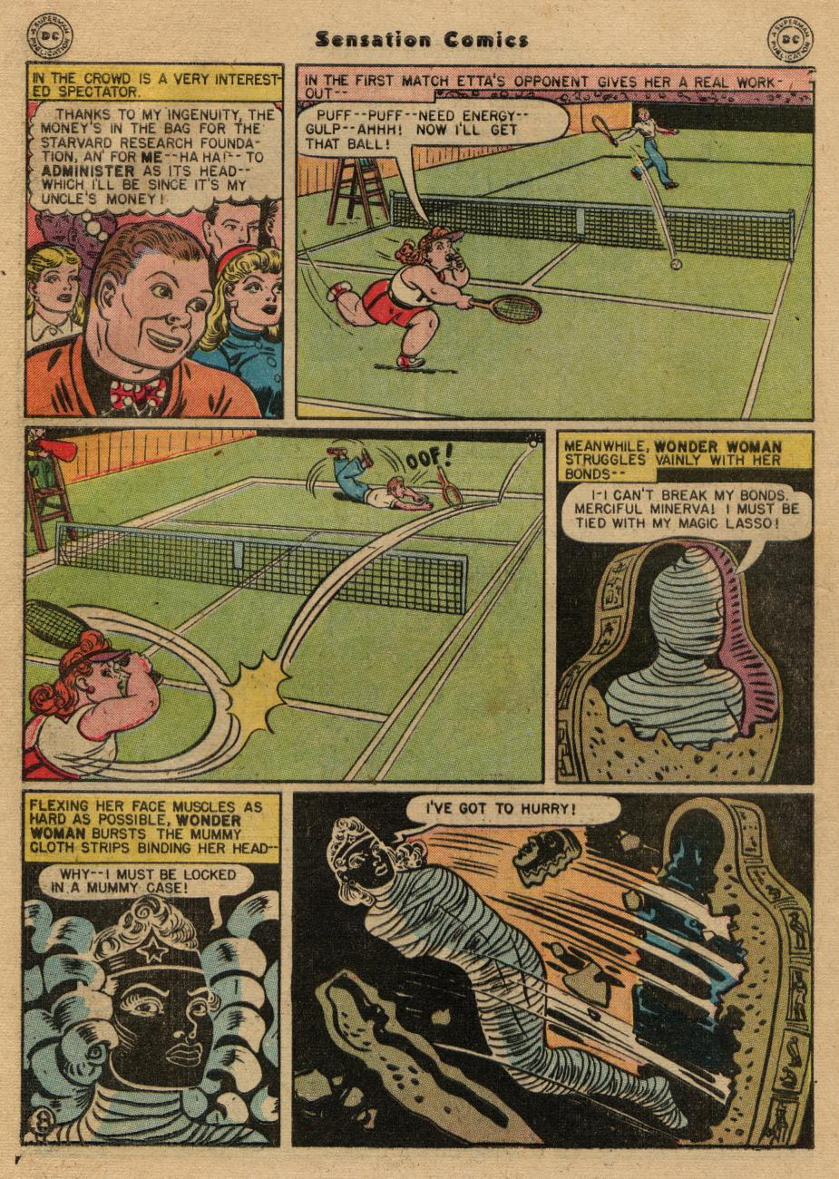 Read online Sensation (Mystery) Comics comic -  Issue #61 - 10