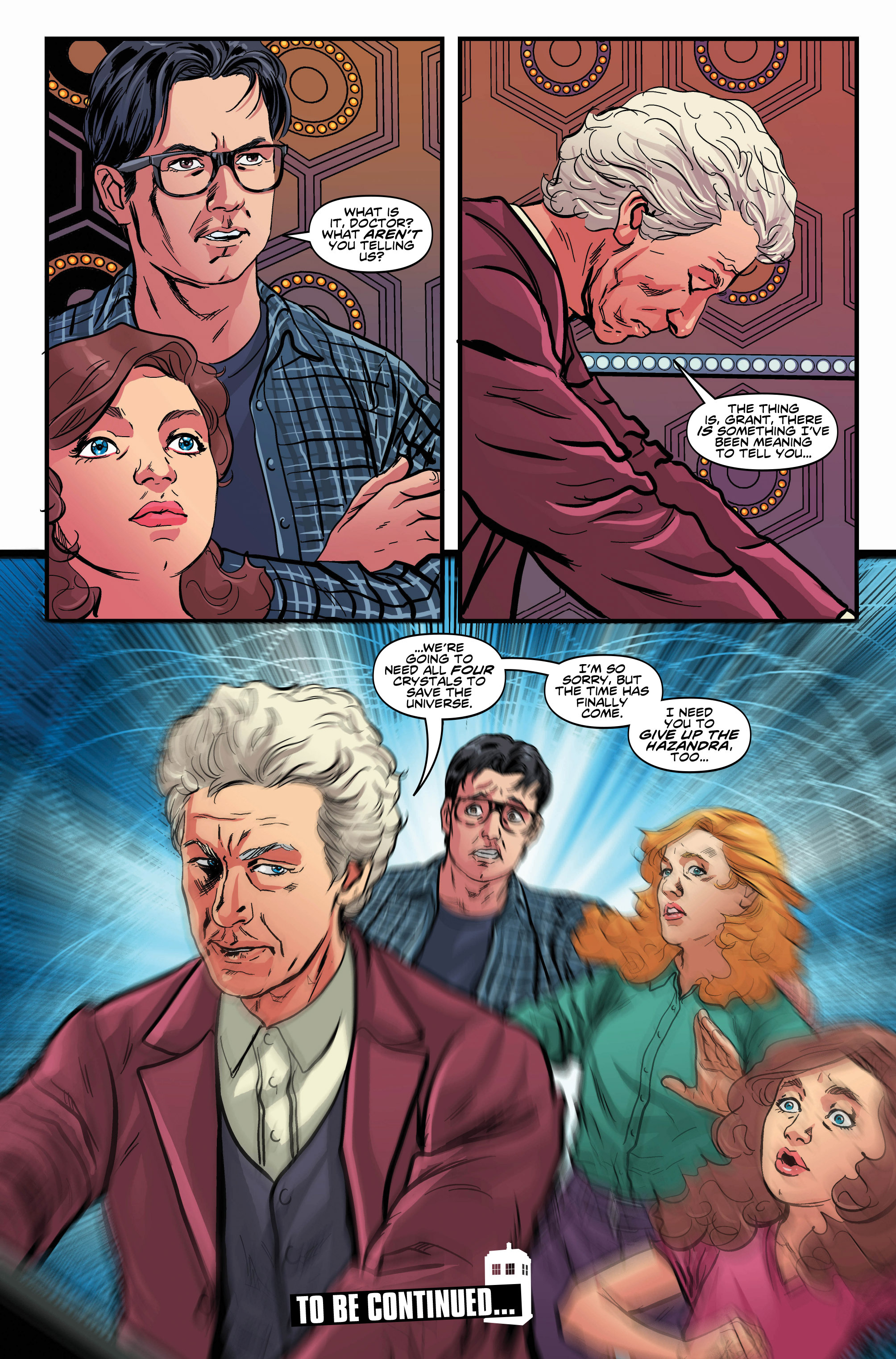 Read online Doctor Who: Ghost Stories comic -  Issue #7 - 13
