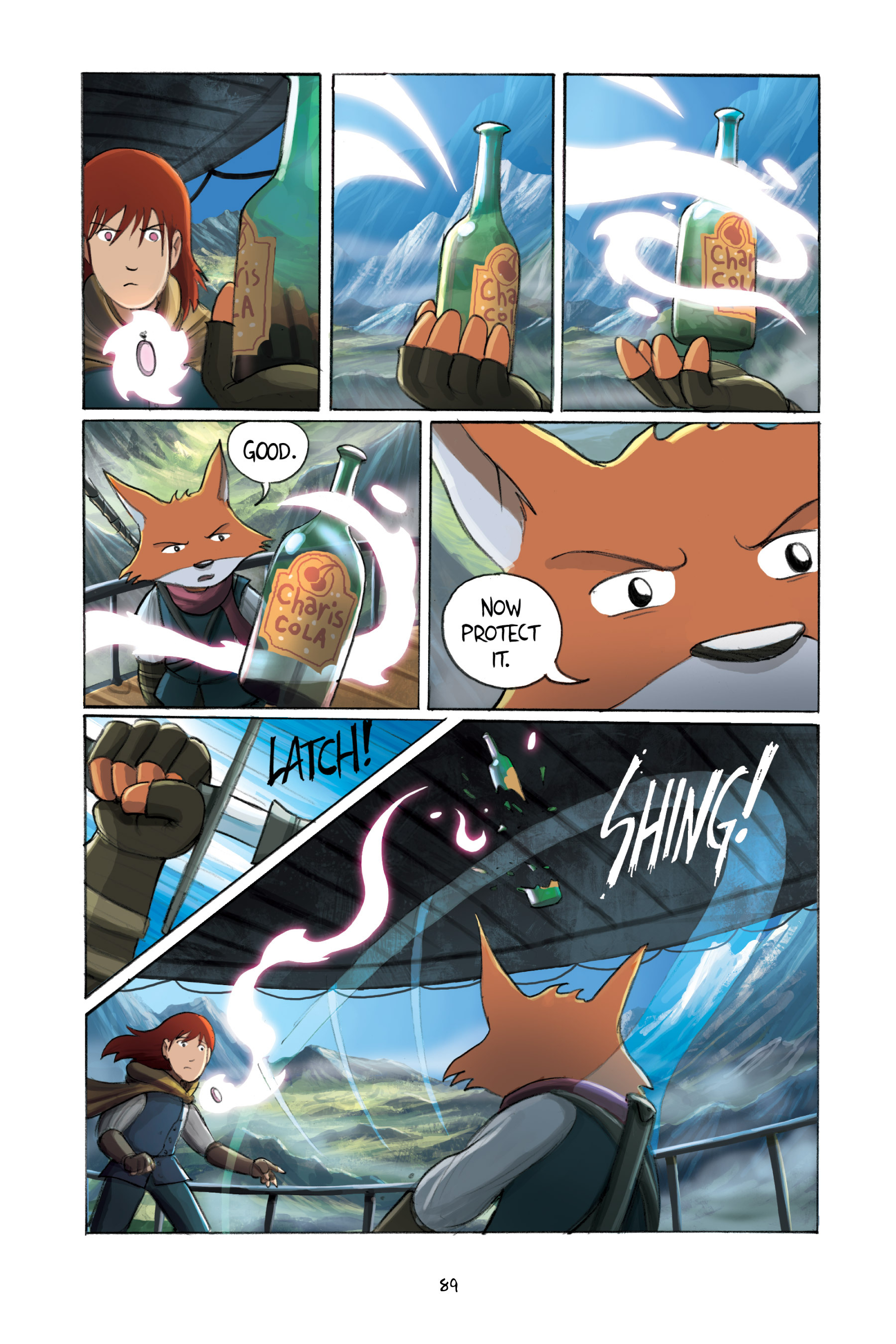 Read online Amulet comic -  Issue #3 - 87
