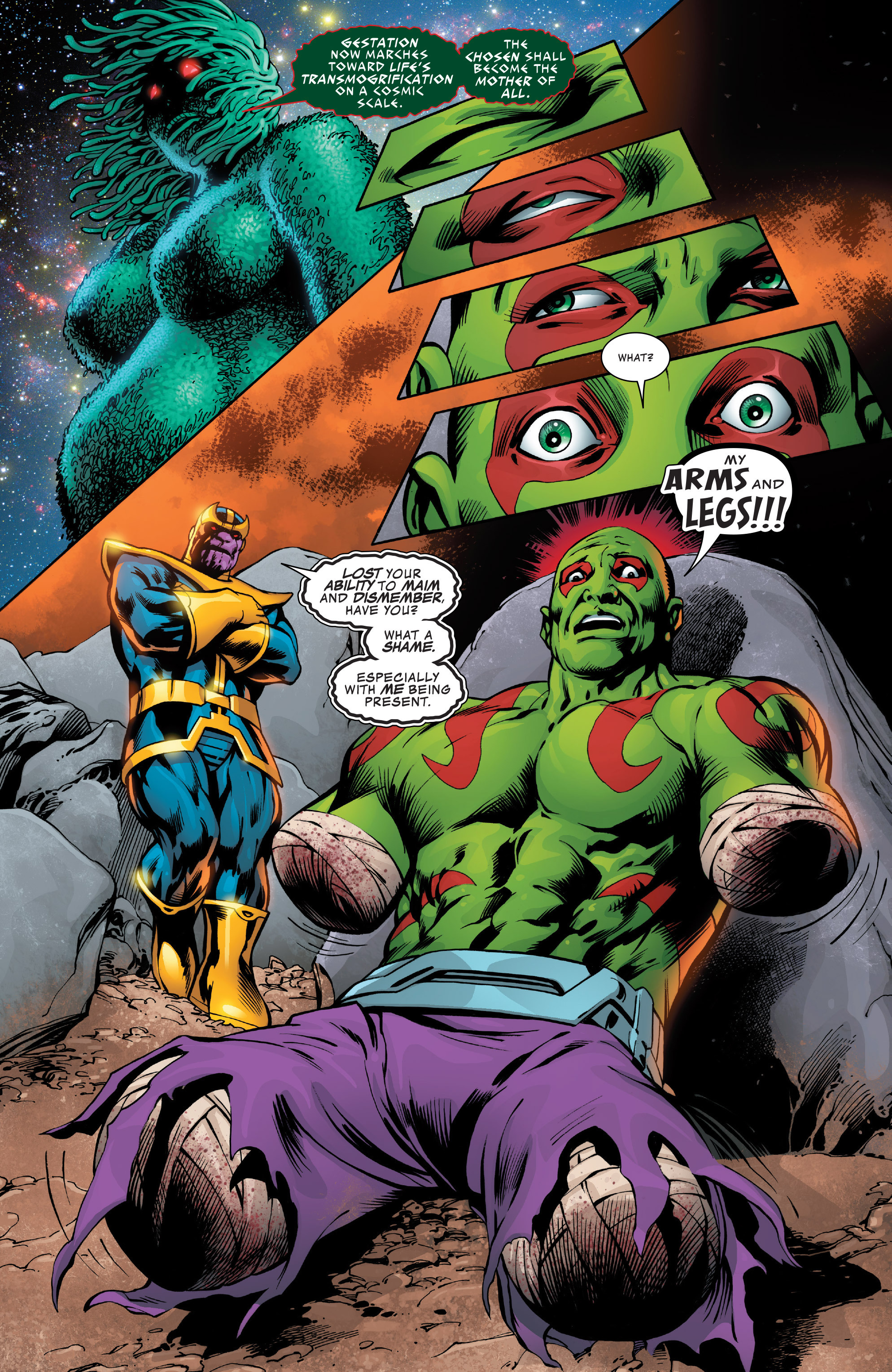 Read online Guardians of the Galaxy: Mother Entropy comic -  Issue #2 - 8