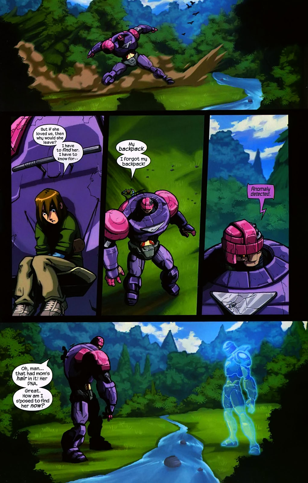 Read online Sentinel (2006) comic -  Issue #2 - 20