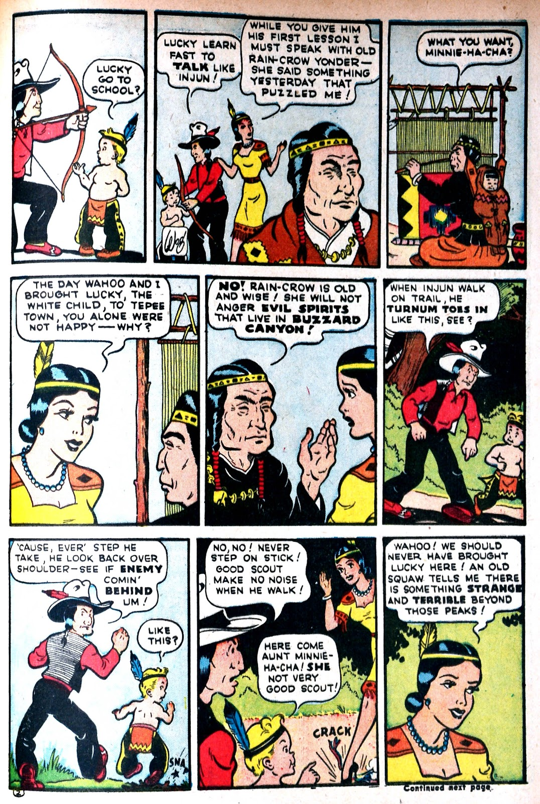 Read online Famous Funnies comic -  Issue #85 - 46