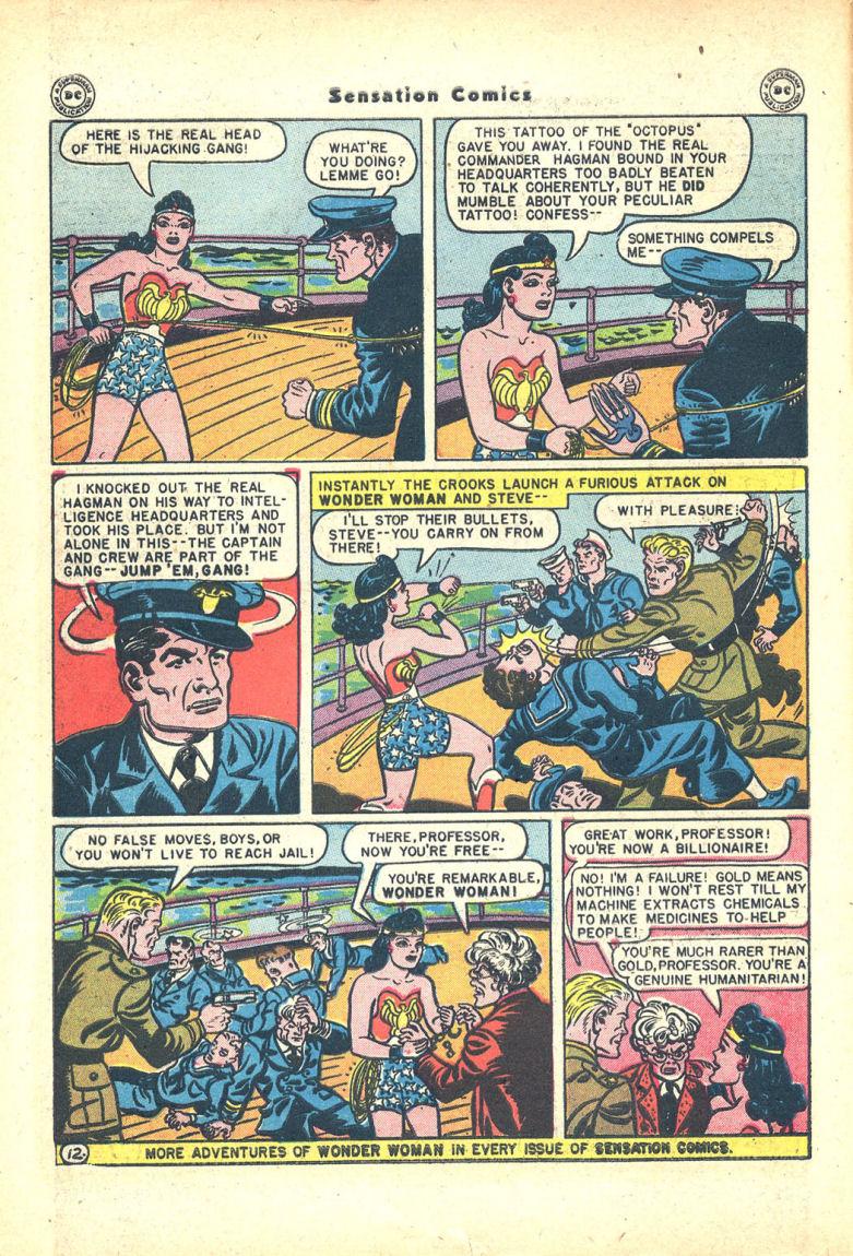 Read online Sensation (Mystery) Comics comic -  Issue #68 - 14