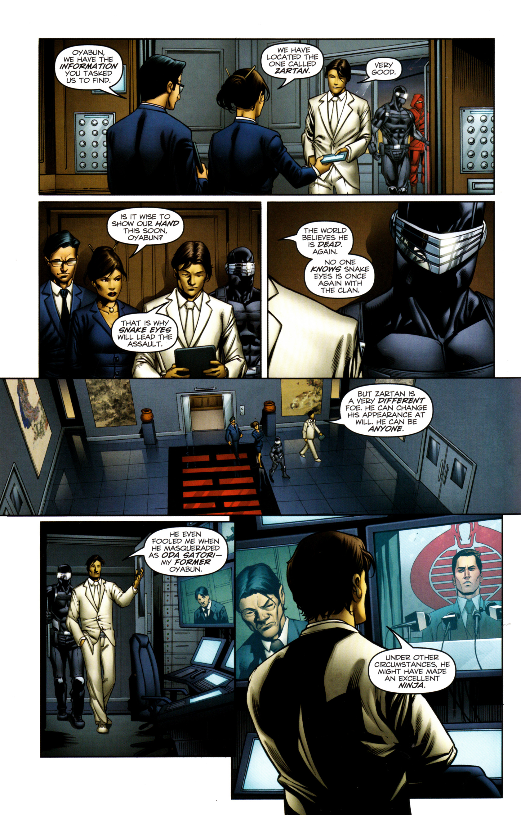 Read online Snake Eyes and Storm Shadow comic -  Issue #13 - 7