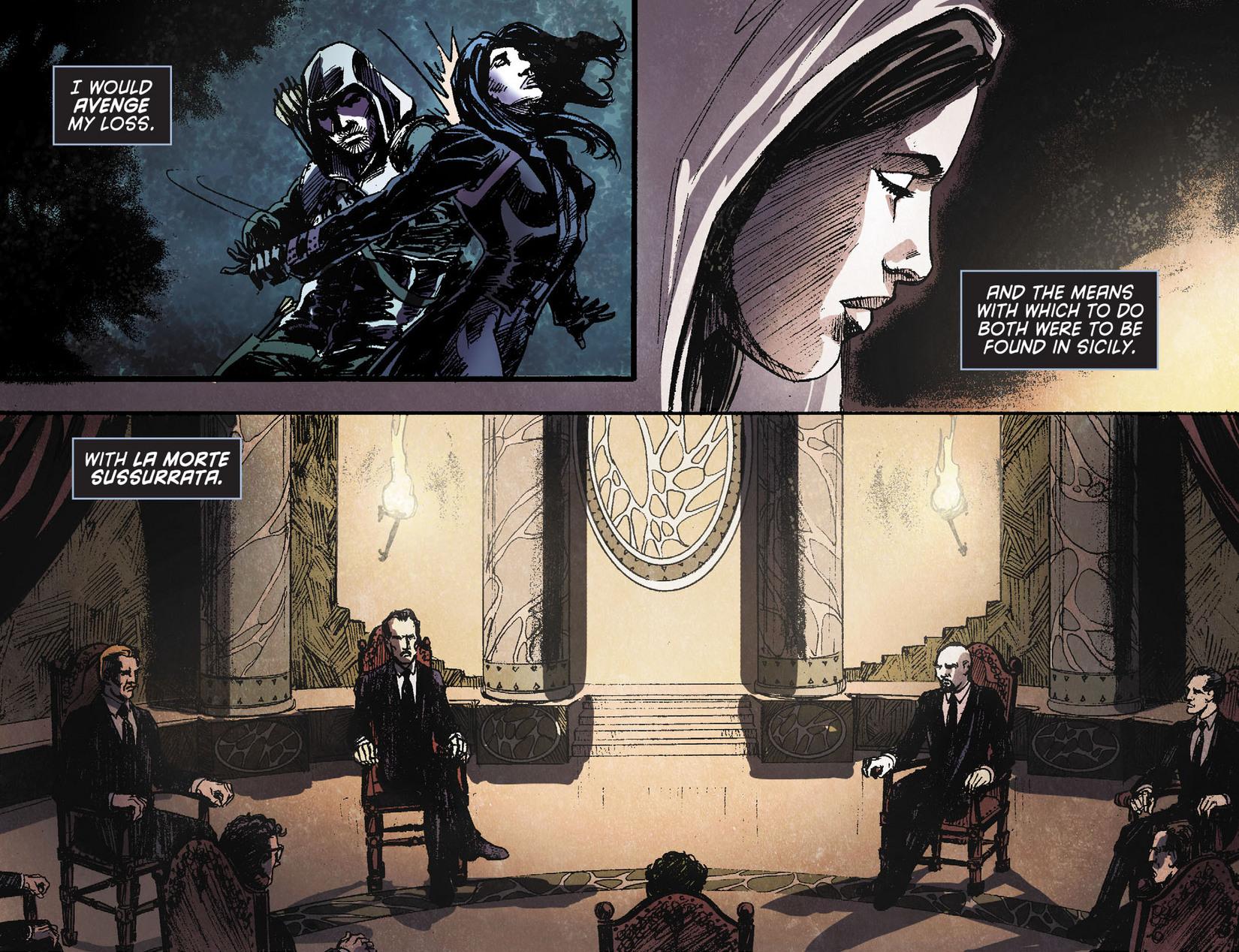 Read online Arrow [II] comic -  Issue #11 - 11