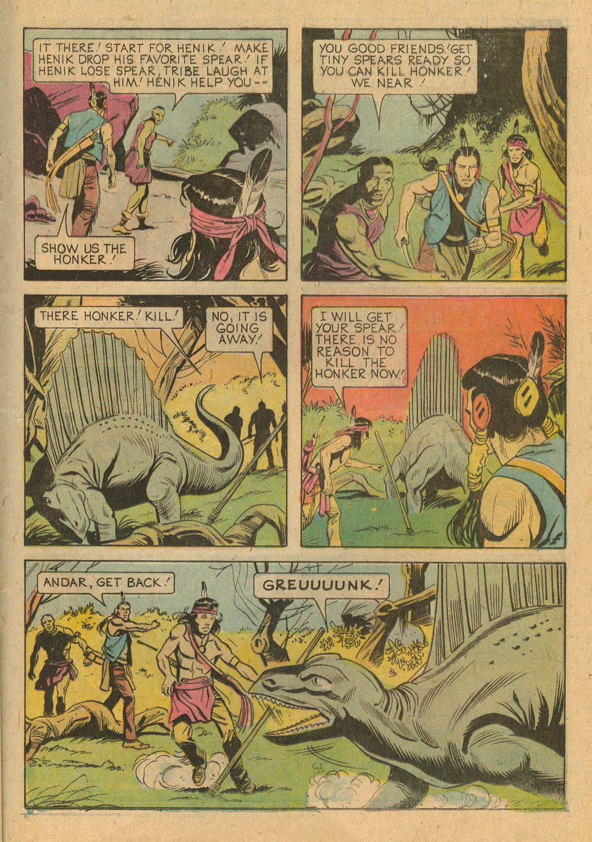 Read online Turok, Son of Stone comic -  Issue #105 - 25