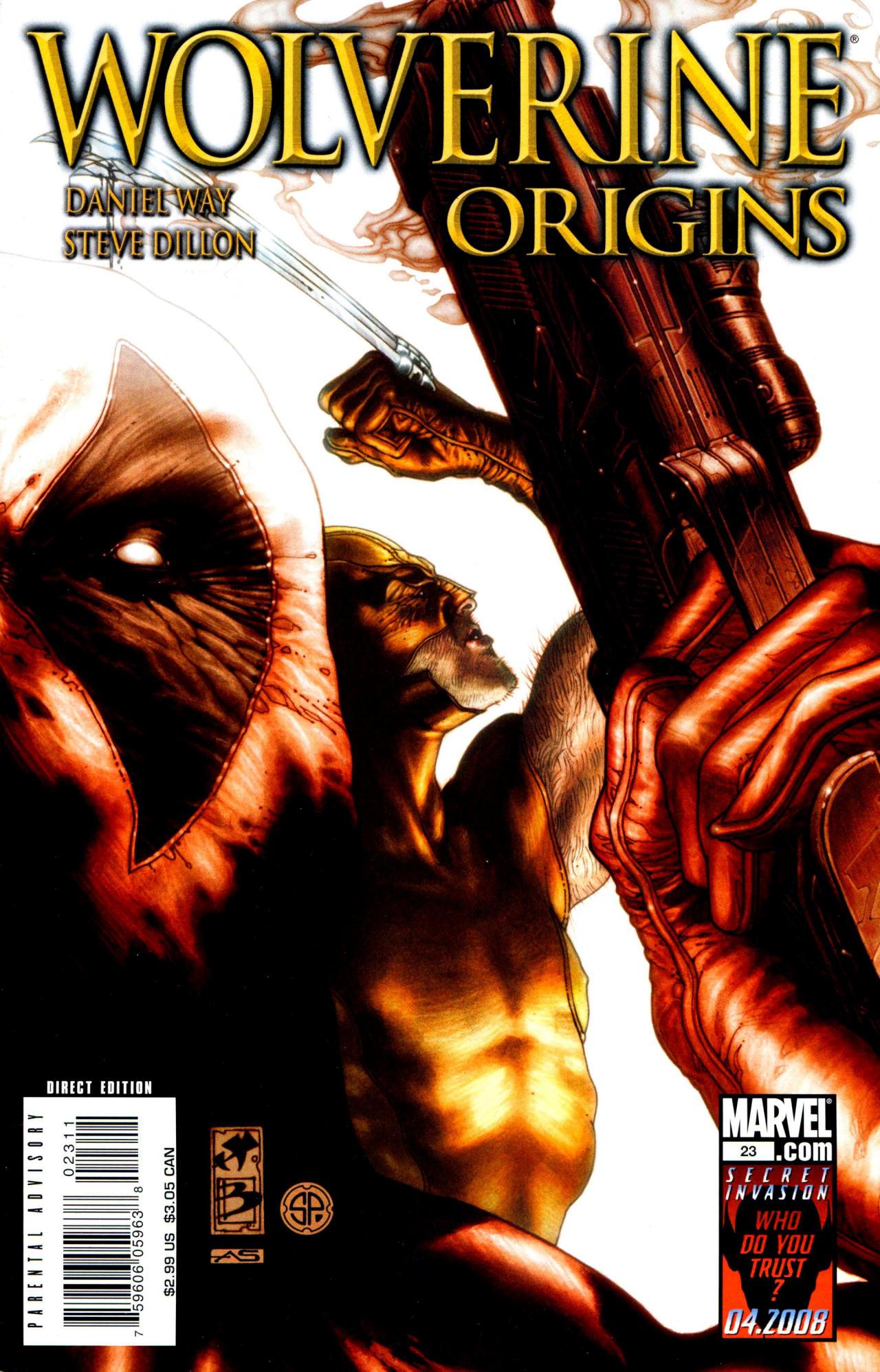Read online Wolverine: Origins comic -  Issue #23 - 1