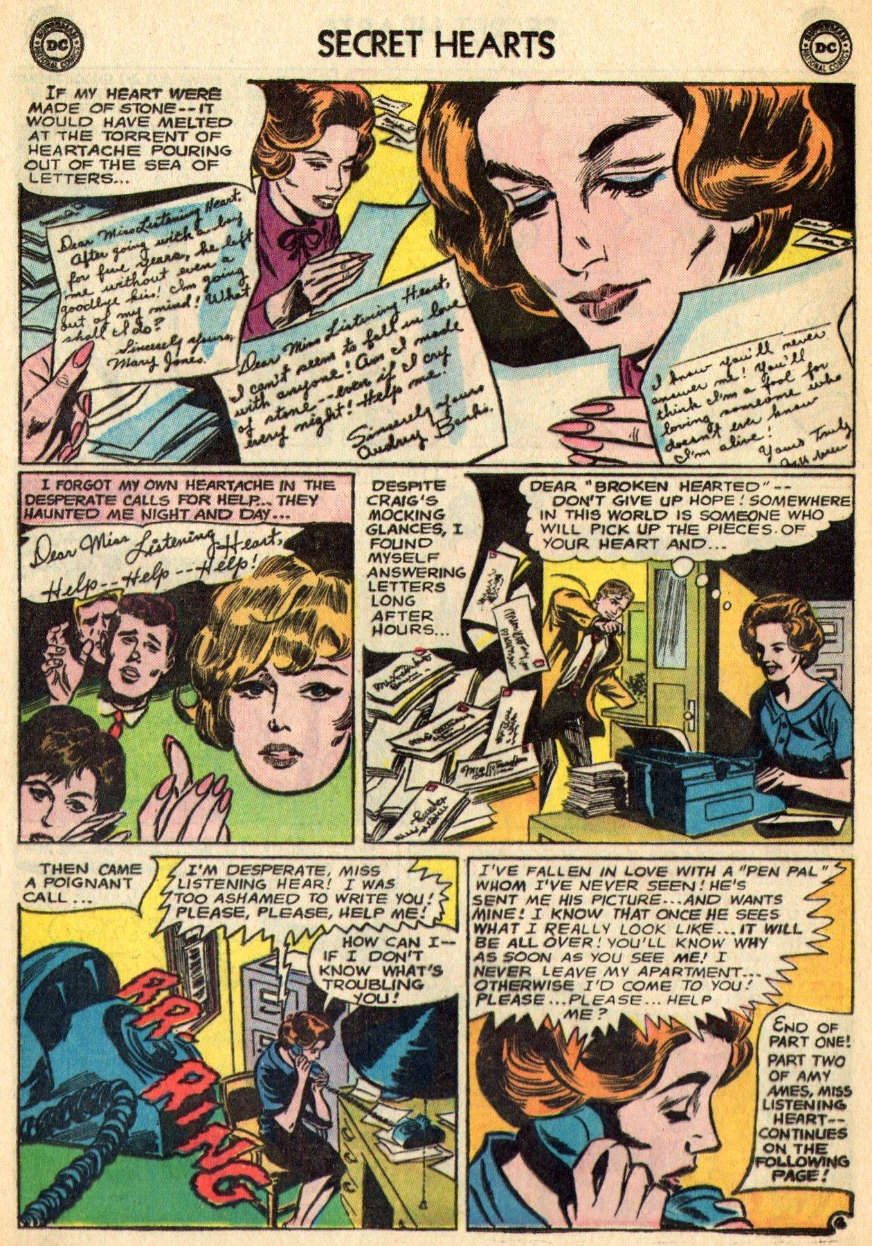 Read online Secret Hearts comic -  Issue #96 - 28