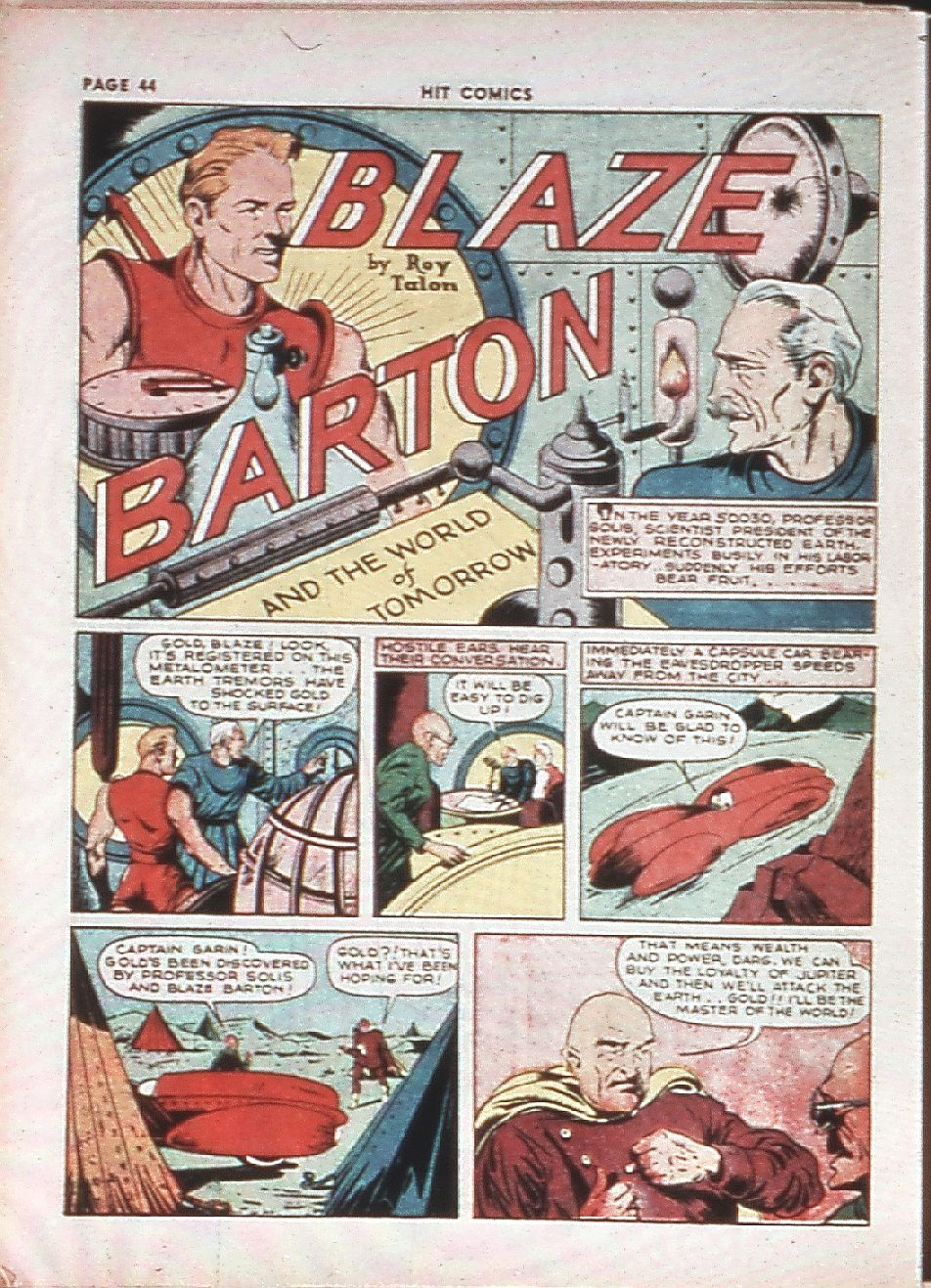 Read online Hit Comics comic -  Issue #10 - 46
