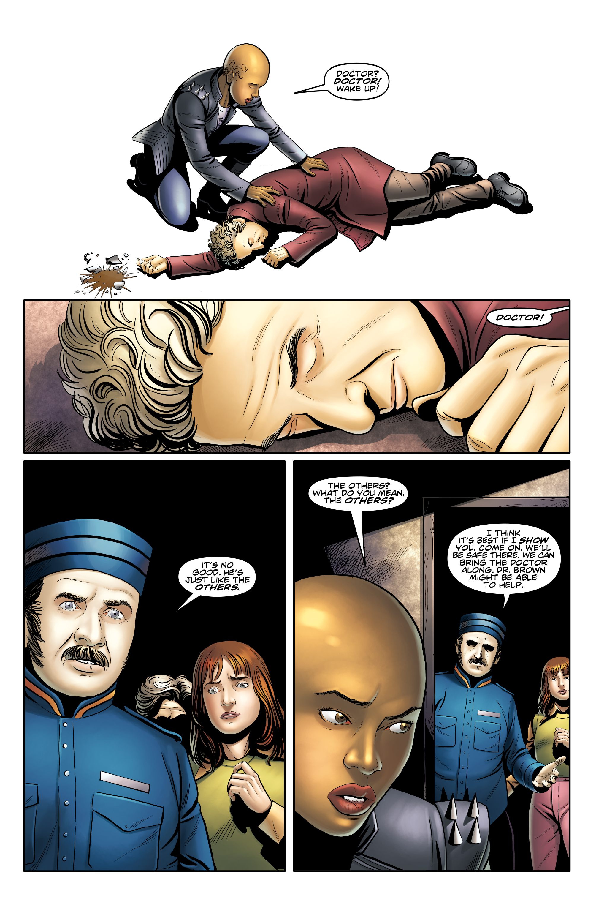 Read online Doctor Who: The Twelfth Doctor Year Three comic -  Issue #3 - 16