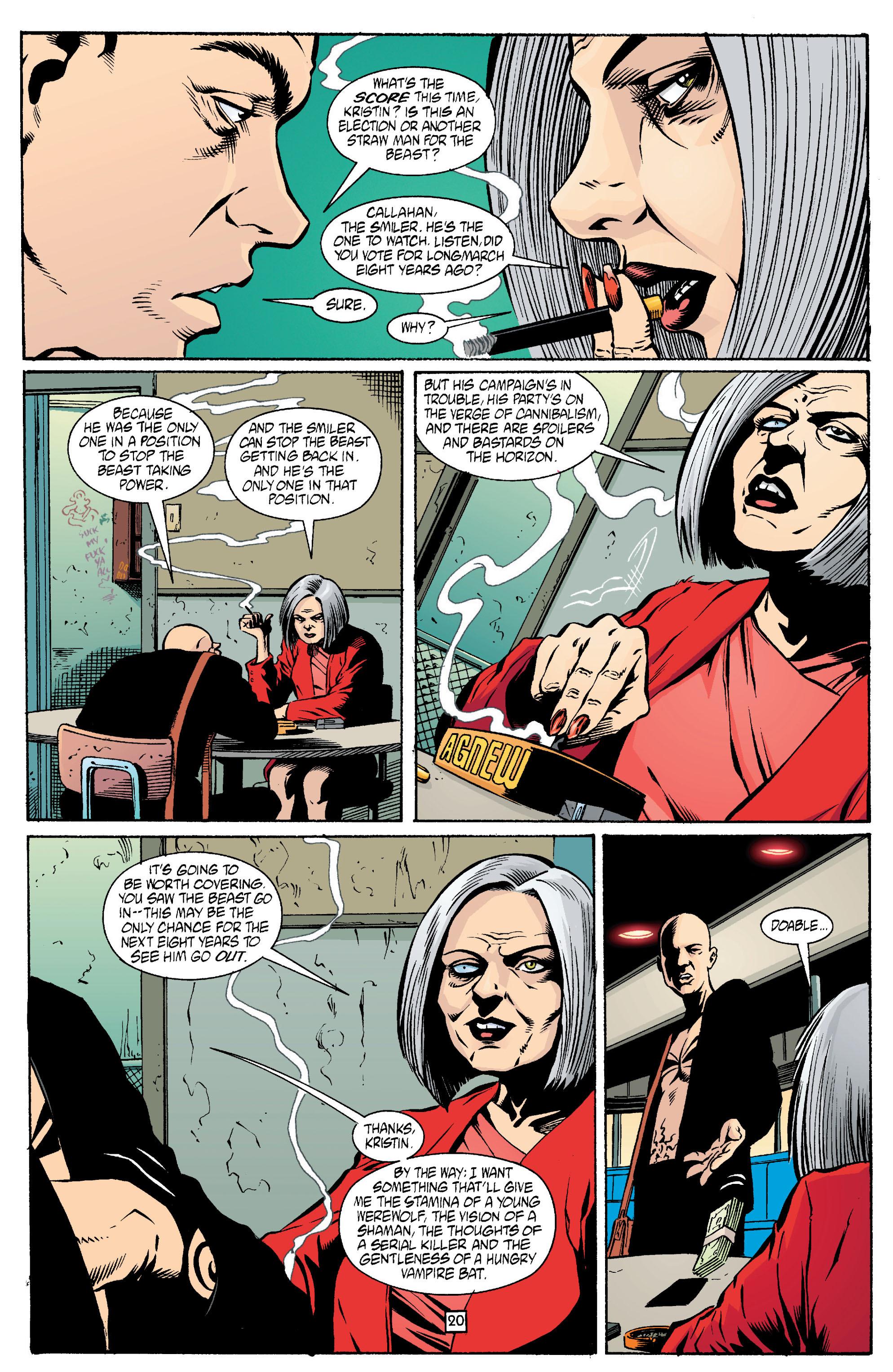 Read online Transmetropolitan comic -  Issue #13 - 21