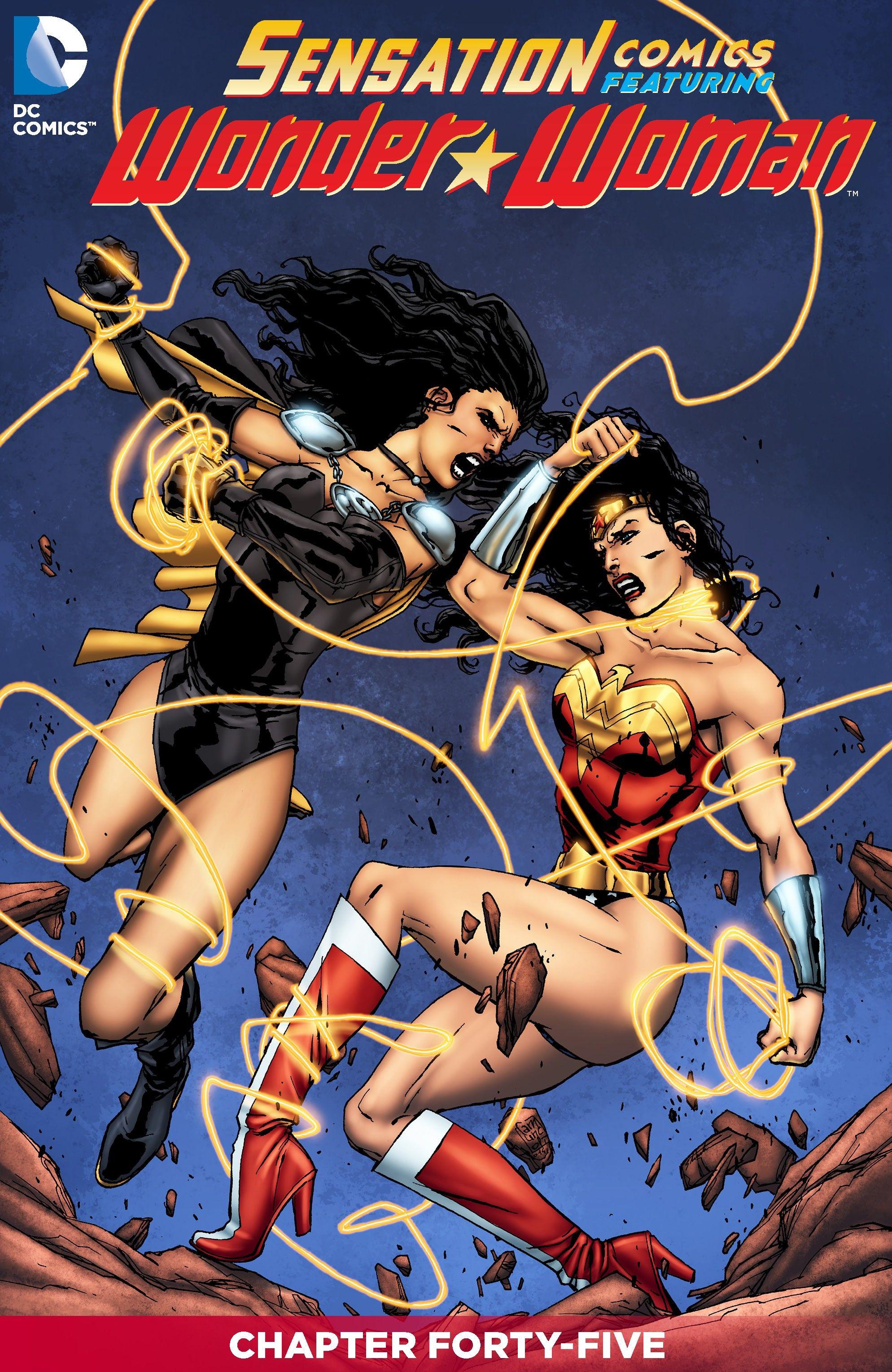 Read online Sensation Comics Featuring Wonder Woman comic -  Issue #45 - 2