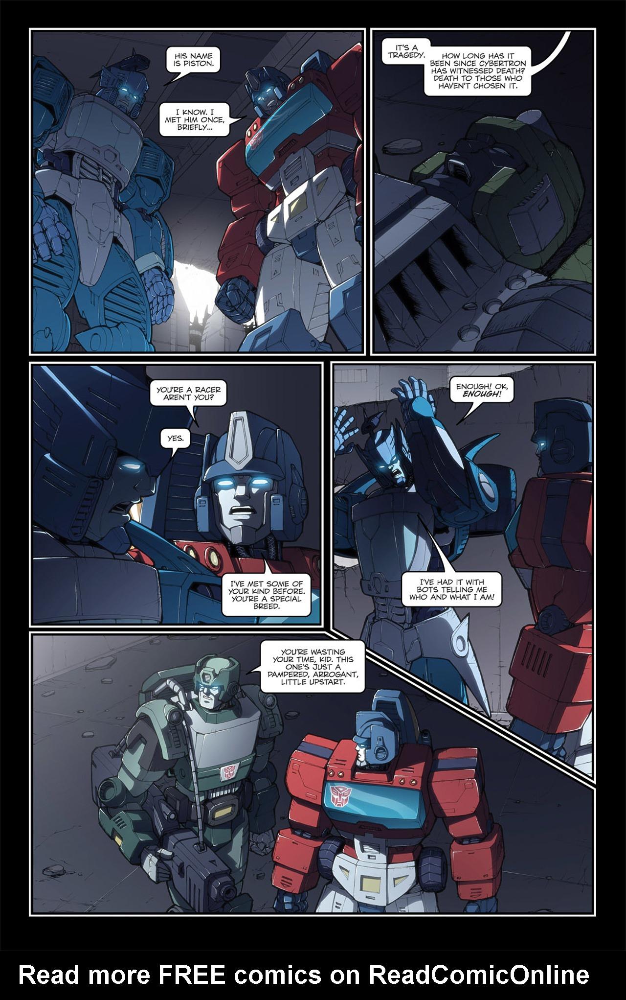 Read online Transformers Spotlight: Blurr comic -  Issue # Full - 20
