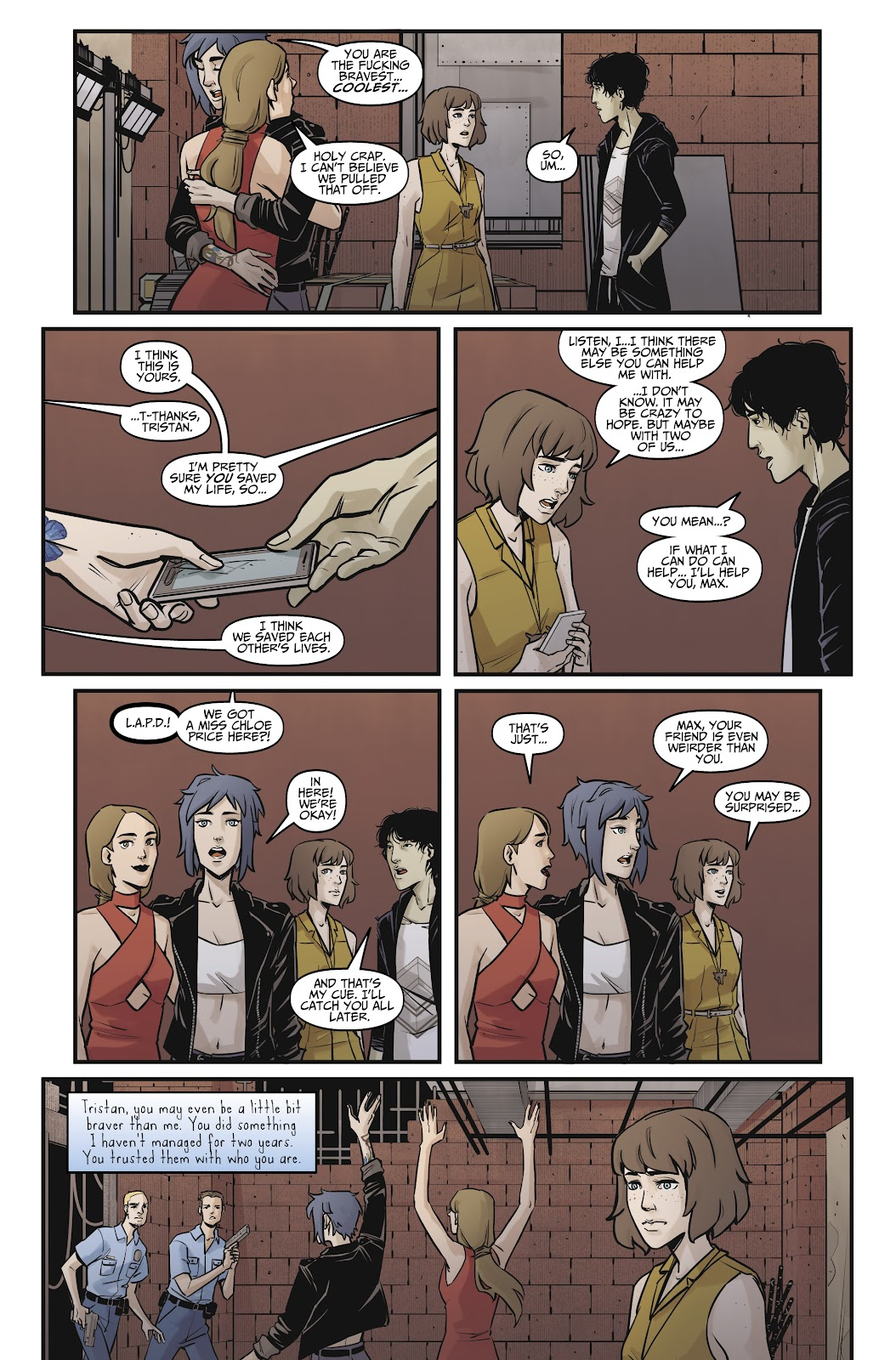 Read online Life is Strange comic -  Issue #8 - 26