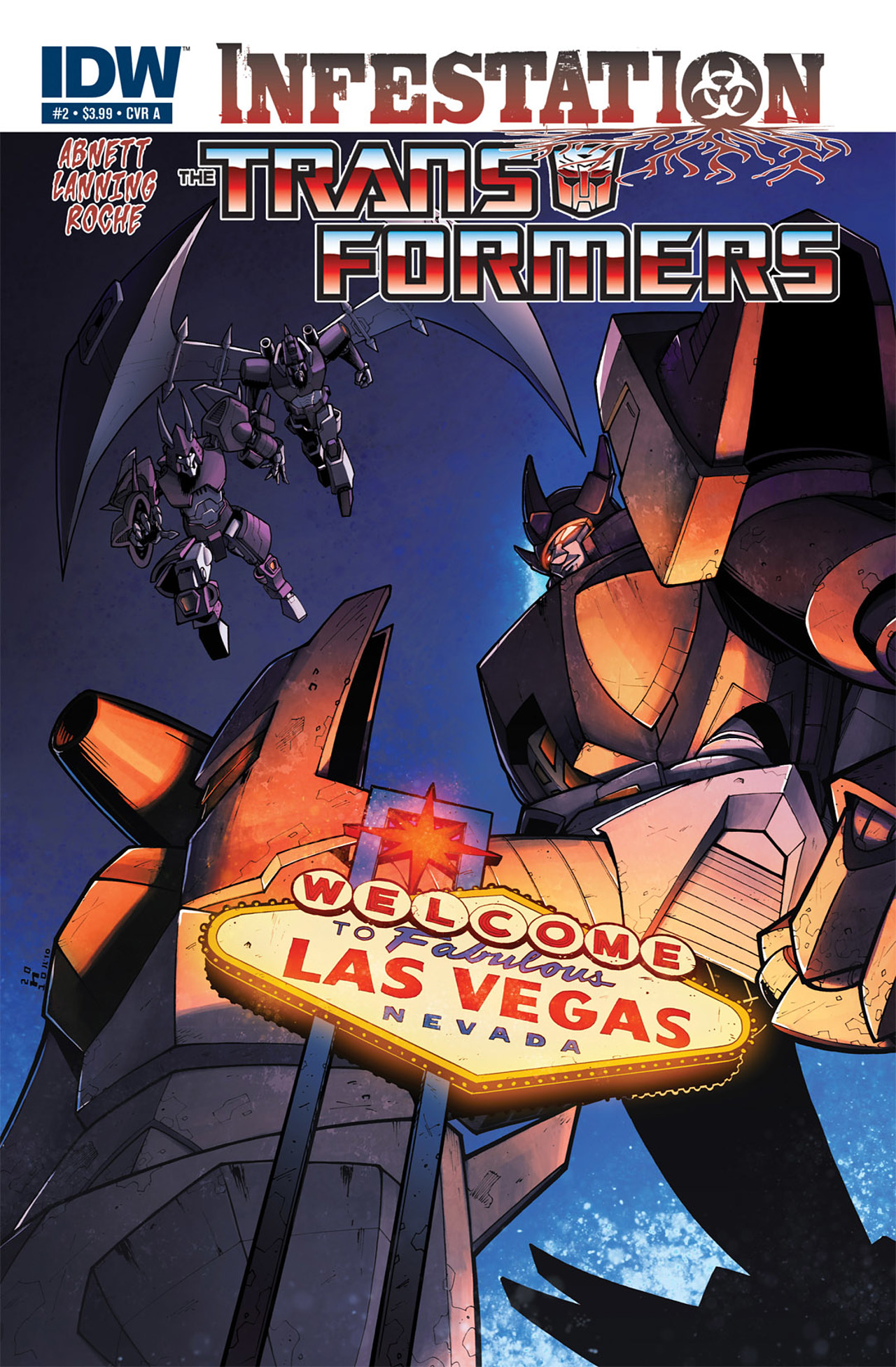 Read online Transformers: Infestation comic -  Issue #2 - 1