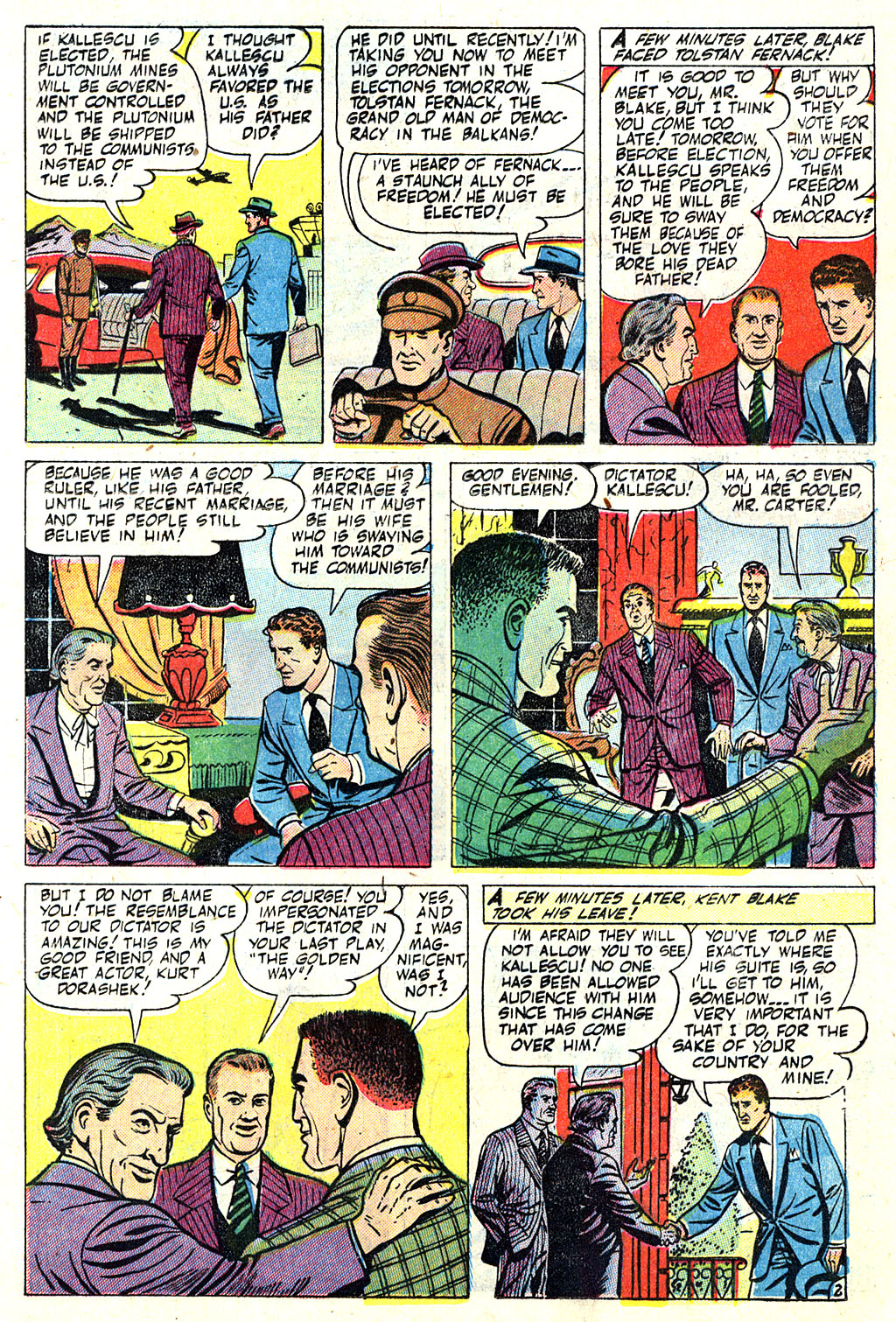 Kent Blake of the Secret Service issue 5 - Page 13