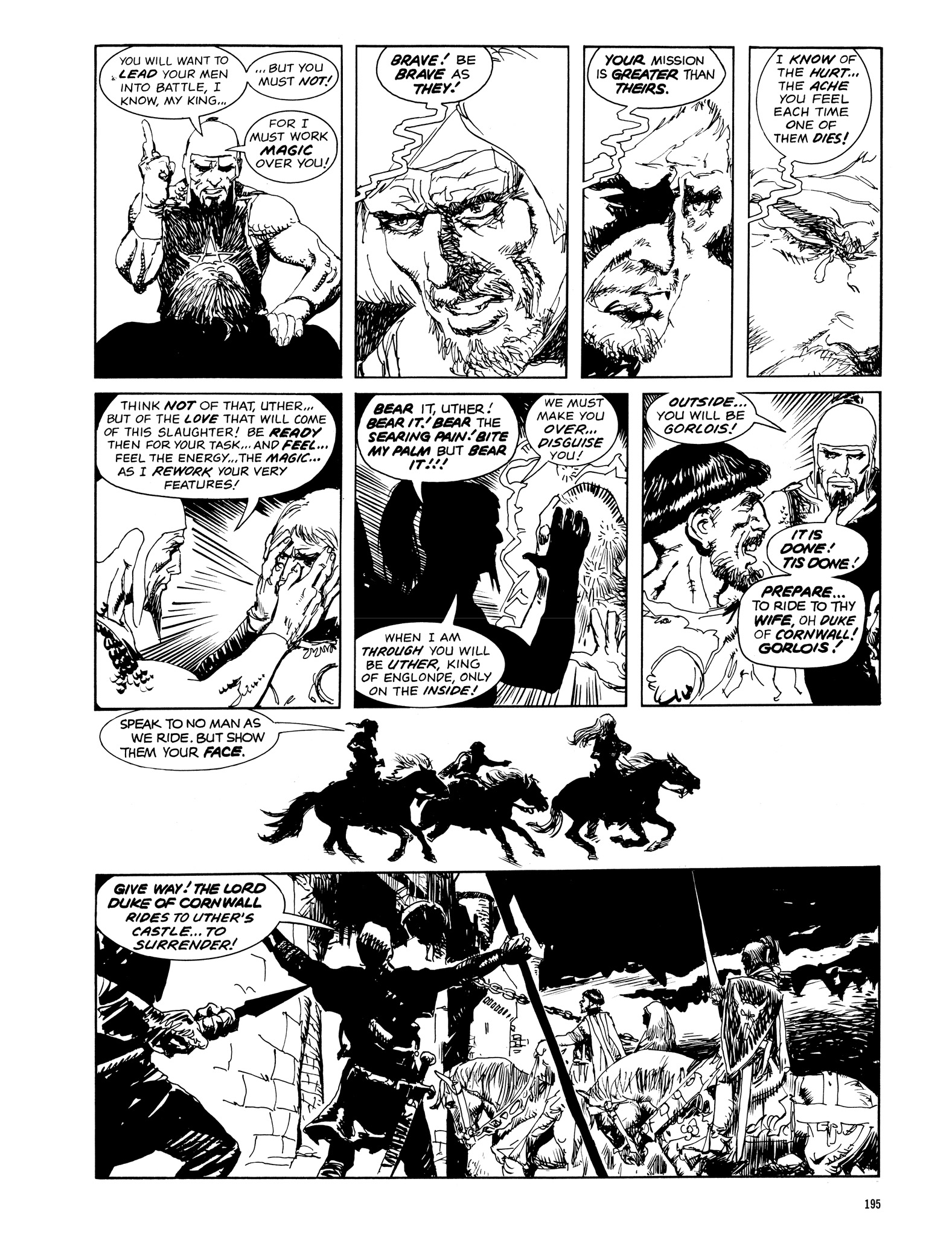 Read online Eerie Archives comic -  Issue # TPB 14 - 196