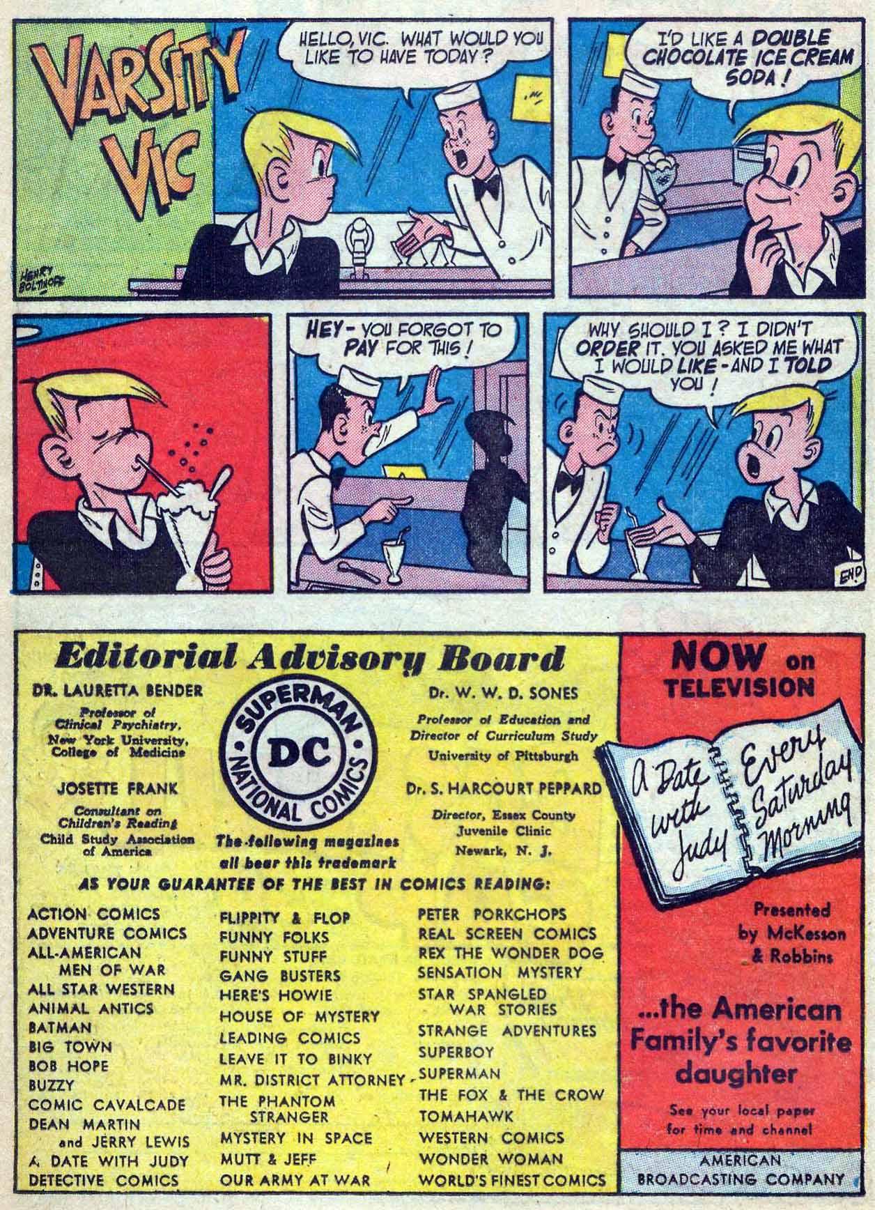 Read online Adventure Comics (1938) comic -  Issue #180 - 24
