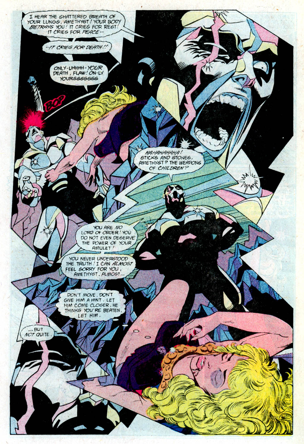 Read online Amethyst (1985) comic -  Issue # _Special 1 - 17