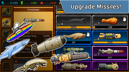 Missile Dude RPG Mod Full Cho Android Apk