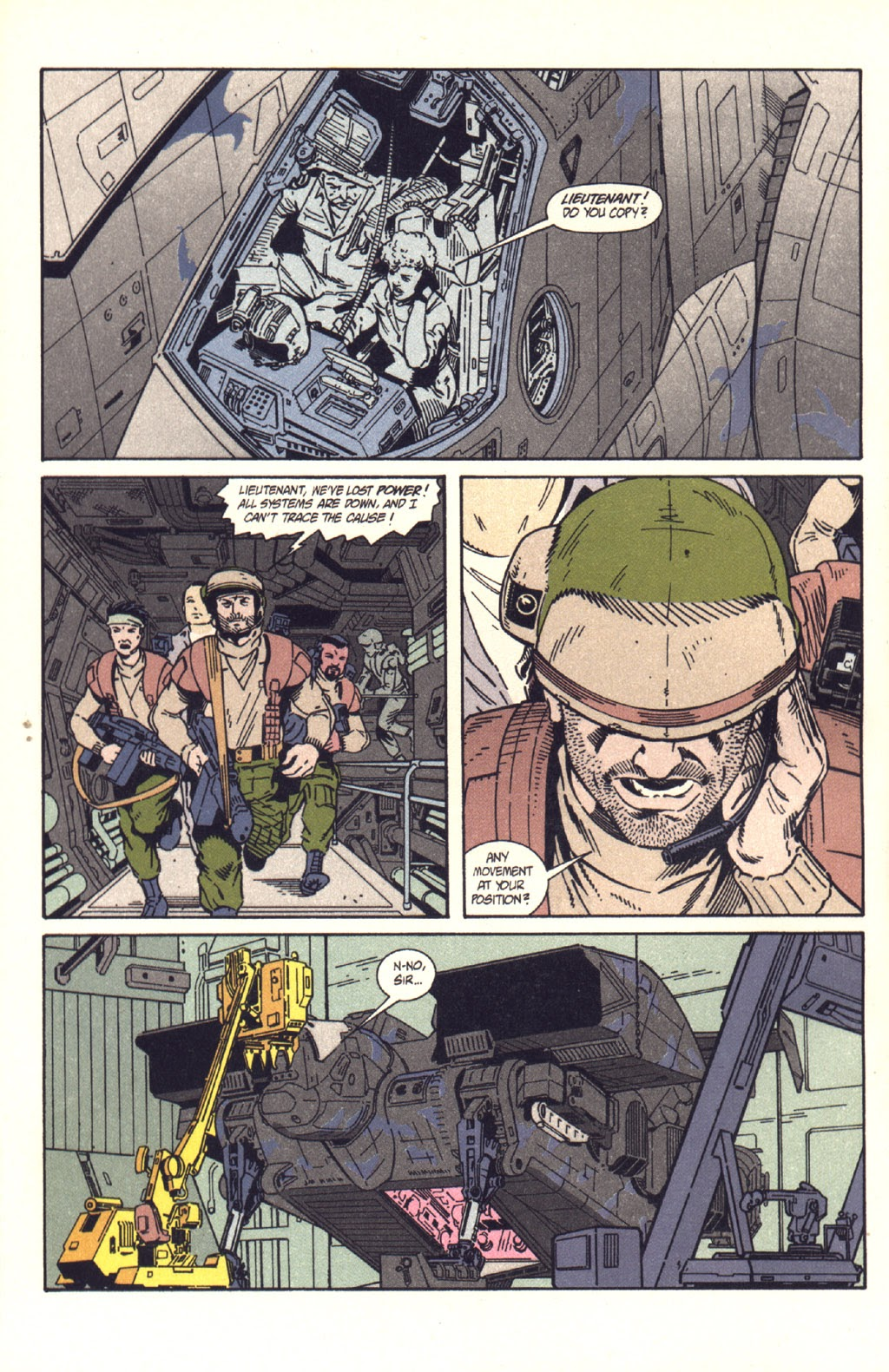 Read online Aliens: Colonial Marines comic -  Issue #9 - 13