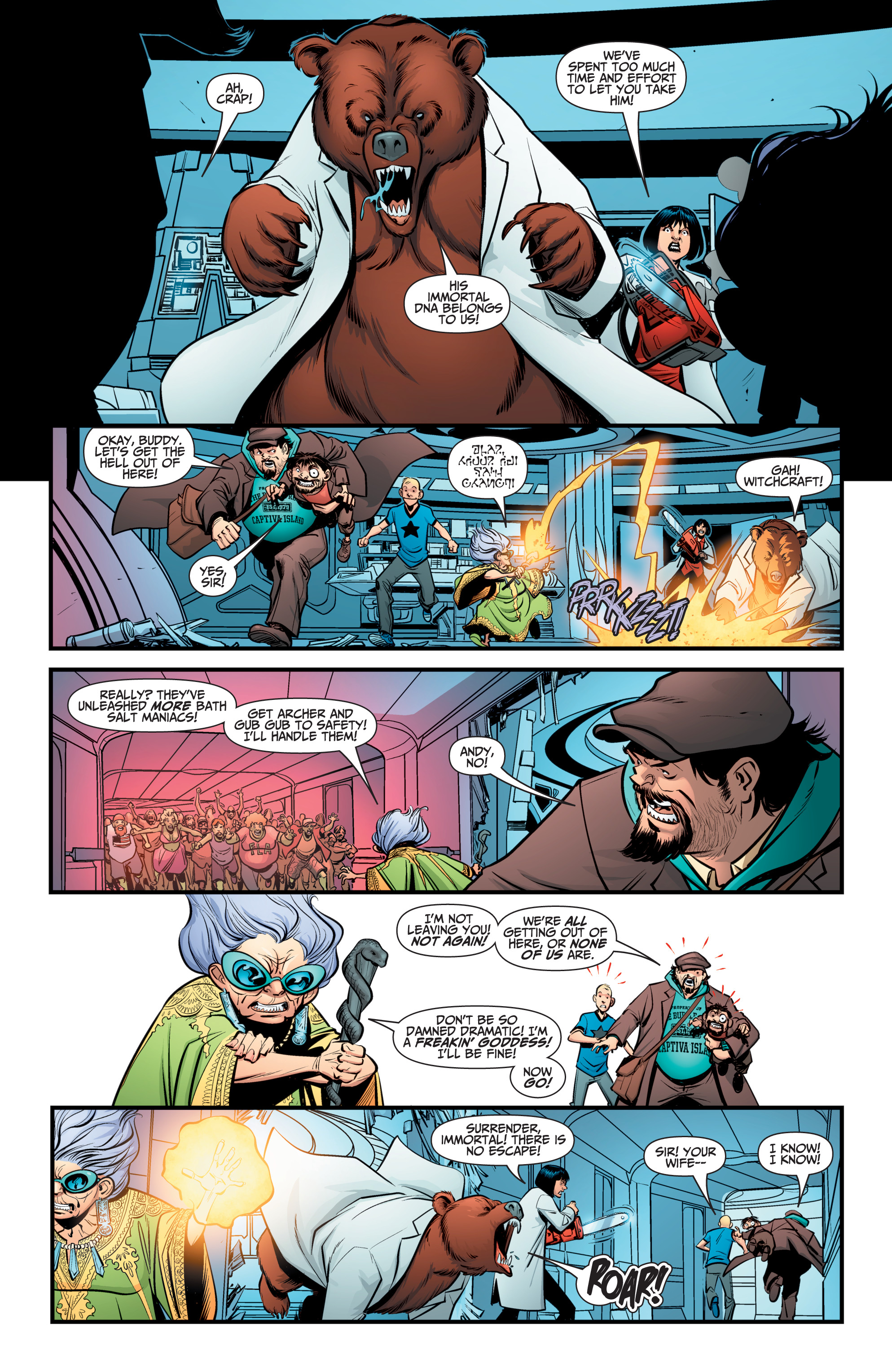 Read online A&A: The Adventures of Archer & Armstrong comic -  Issue #12 - 11