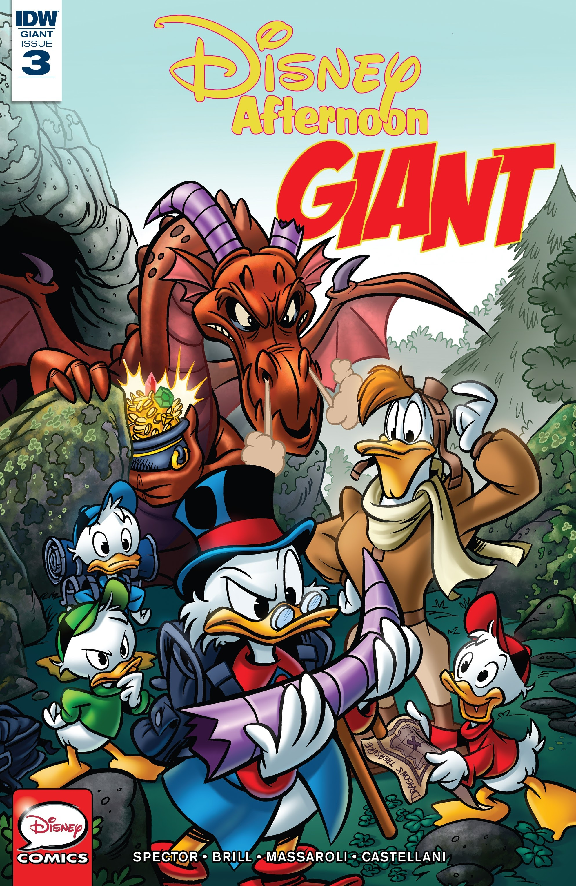 Disney Afternoon Giant 3 Page 1