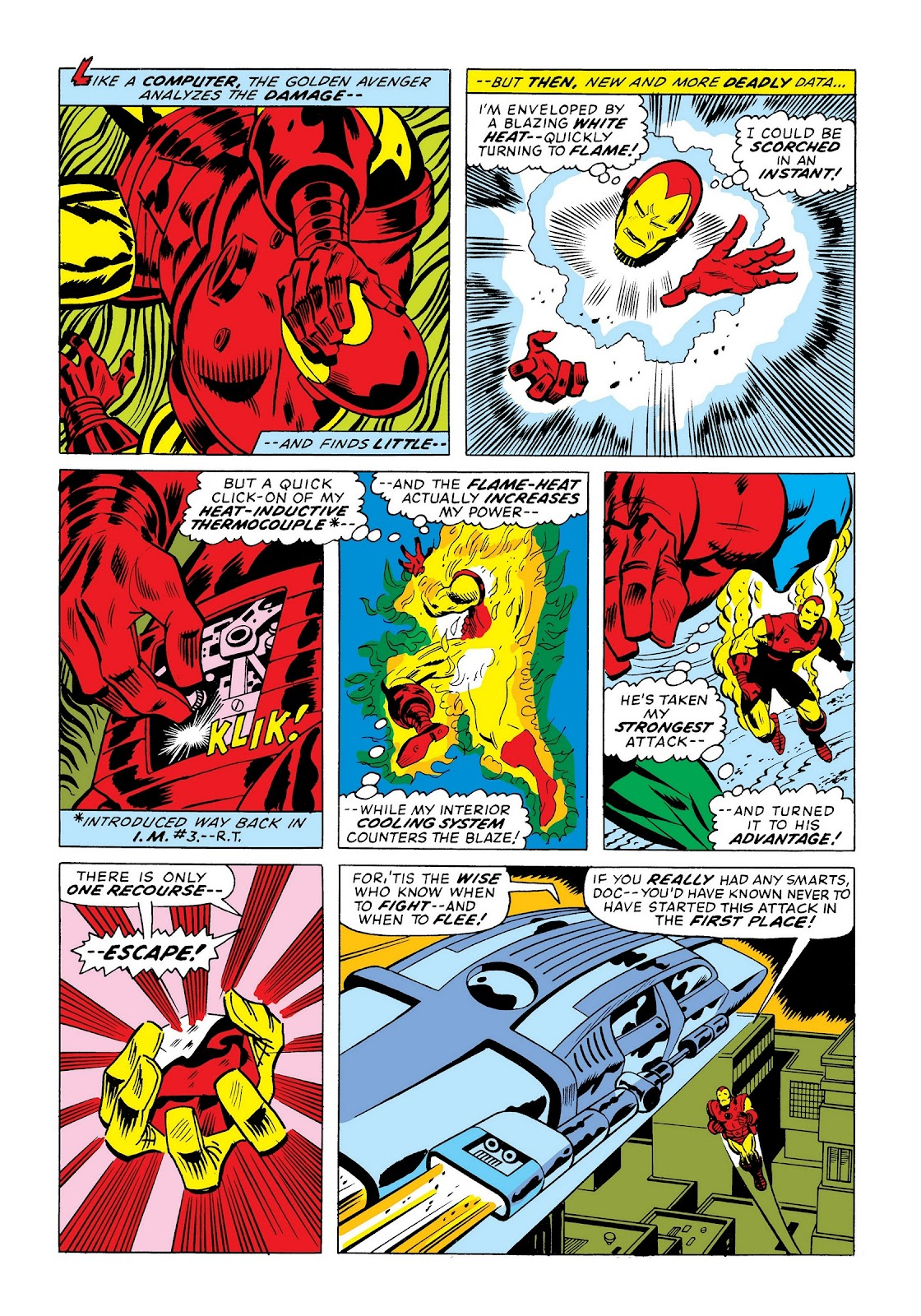 Read online Marvel Masterworks: The Invincible Iron Man comic -  Issue # TPB 9 (Part 3) - 67