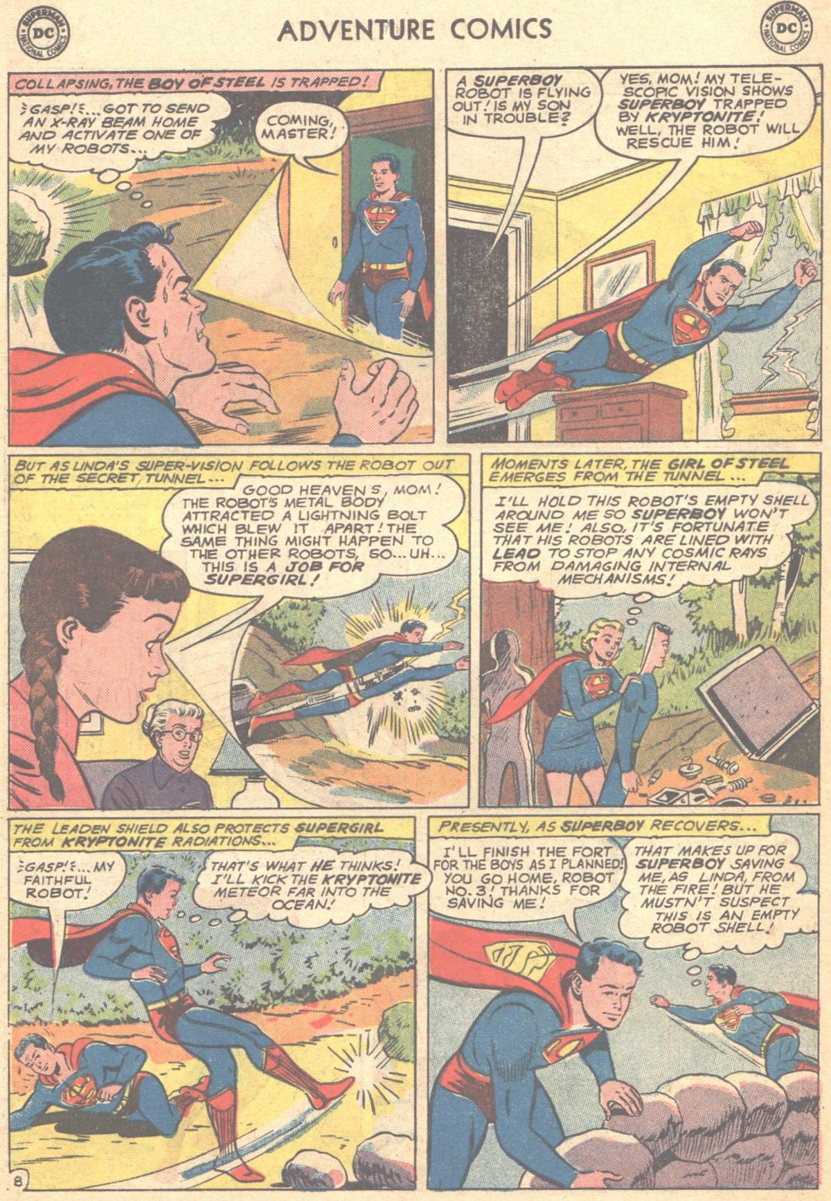 Read online Adventure Comics (1938) comic -  Issue #278 - 10