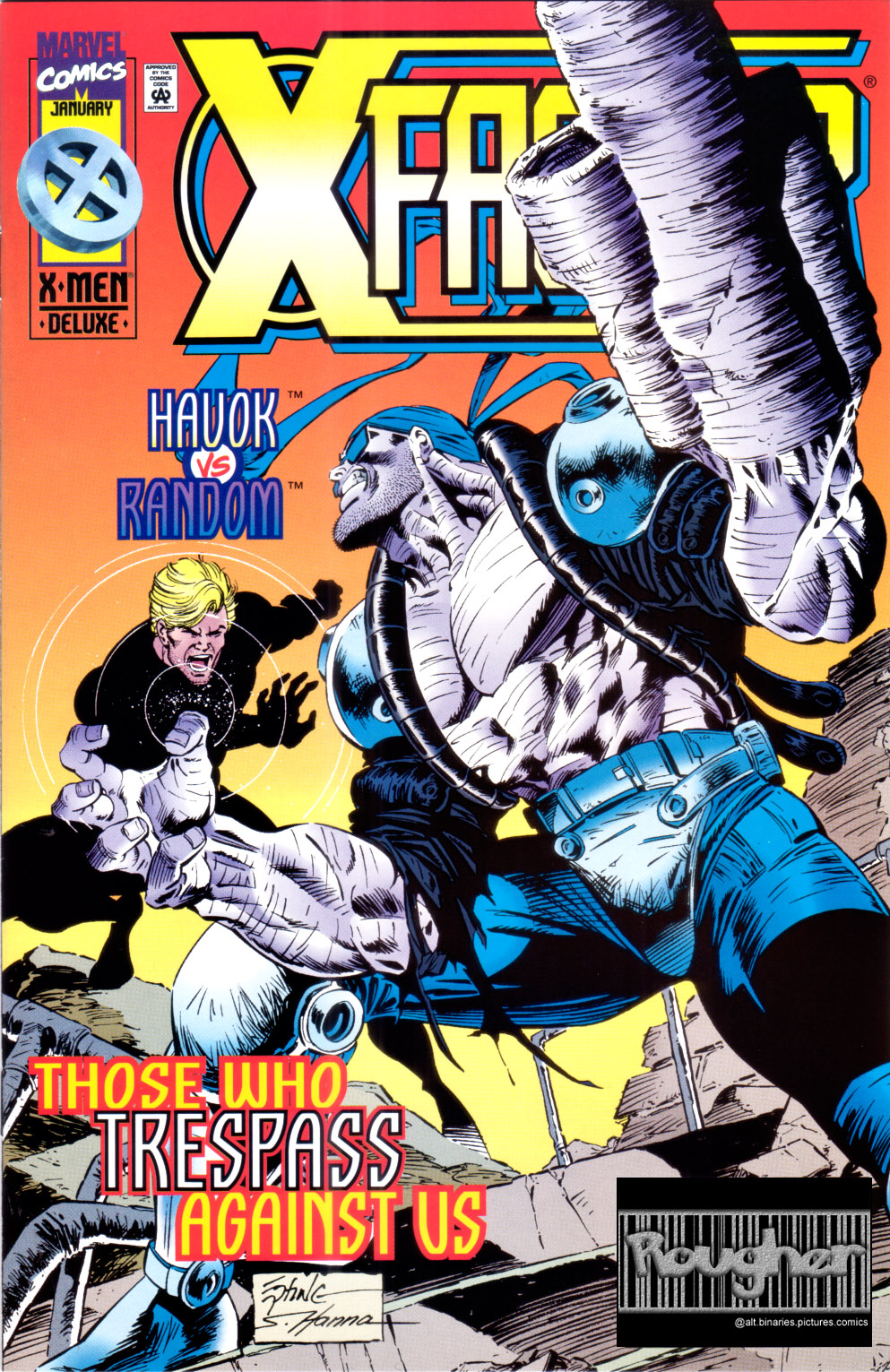 Read online X-Factor (1986) comic -  Issue #118 - 1