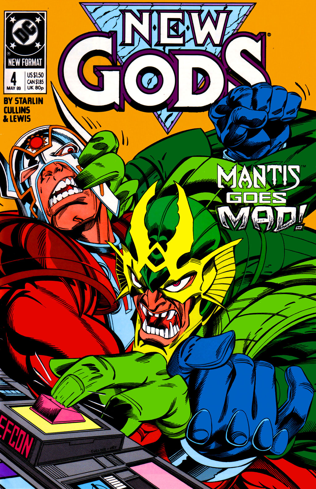 The New Gods (1989) 4 Page 1