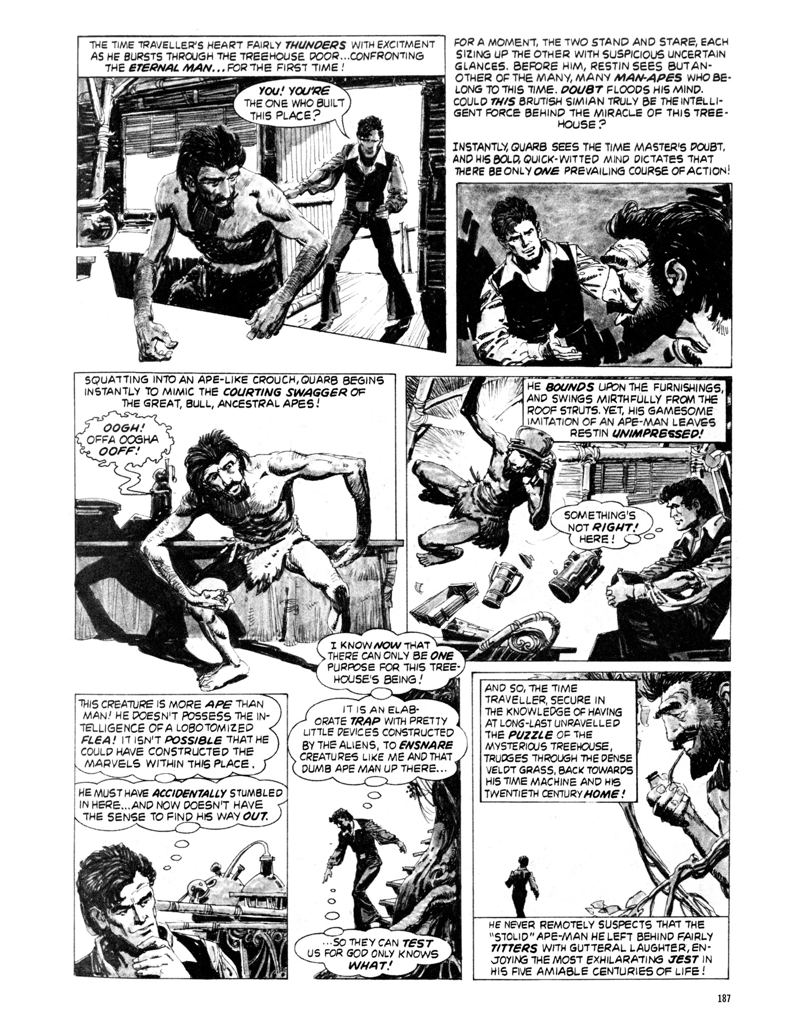 Read online Eerie Archives comic -  Issue # TPB 20 - 187
