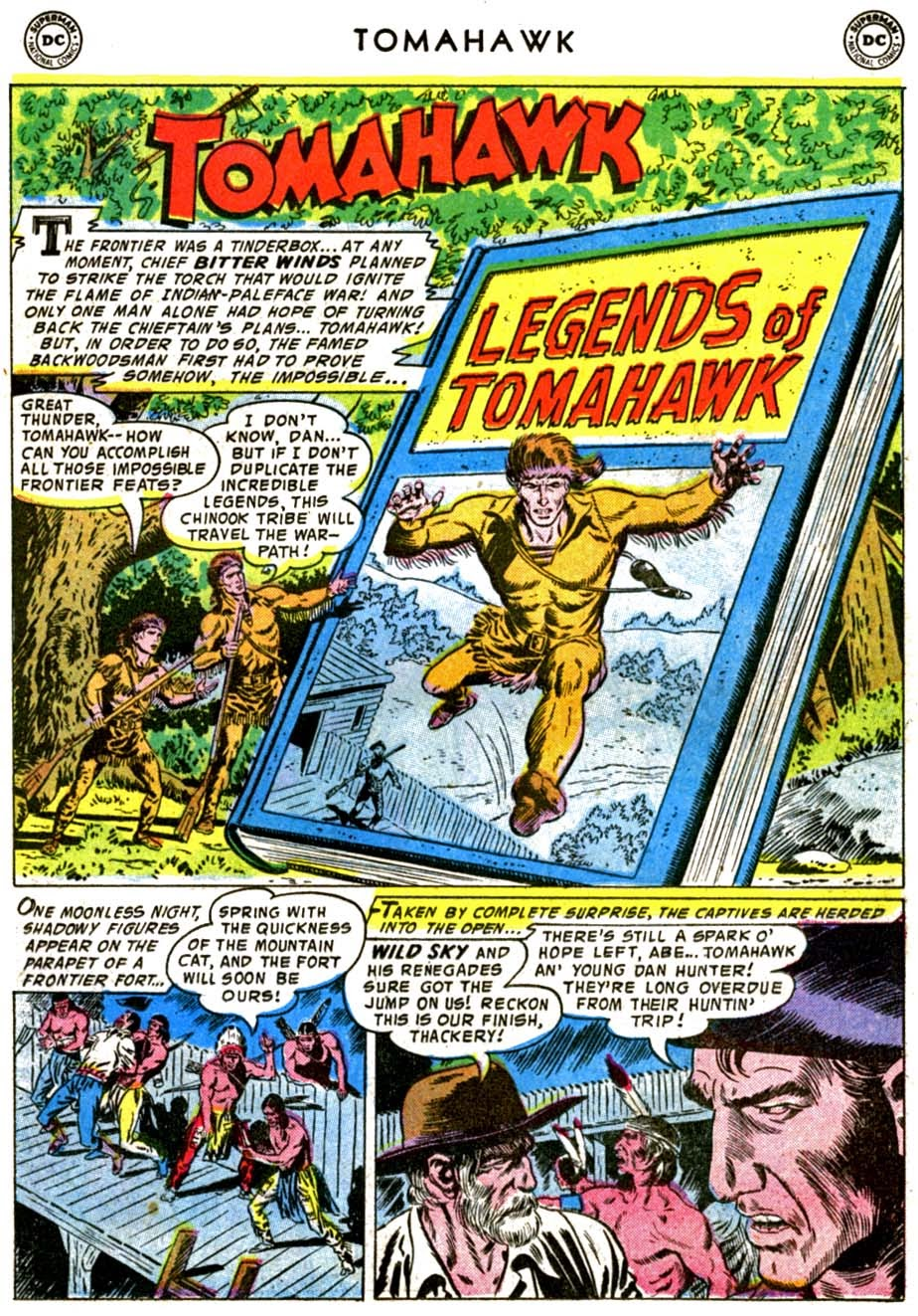 Read online Tomahawk comic -  Issue #48 - 15