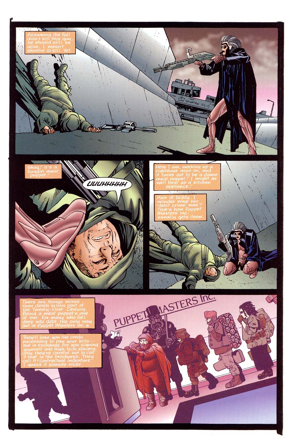 Read online 2099 Unlimited comic -  Issue #10 - 27