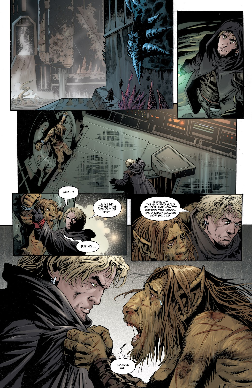 Read online Star Wars Legends: Legacy - Epic Collection comic -  Issue # TPB 1 (Part 4) - 35