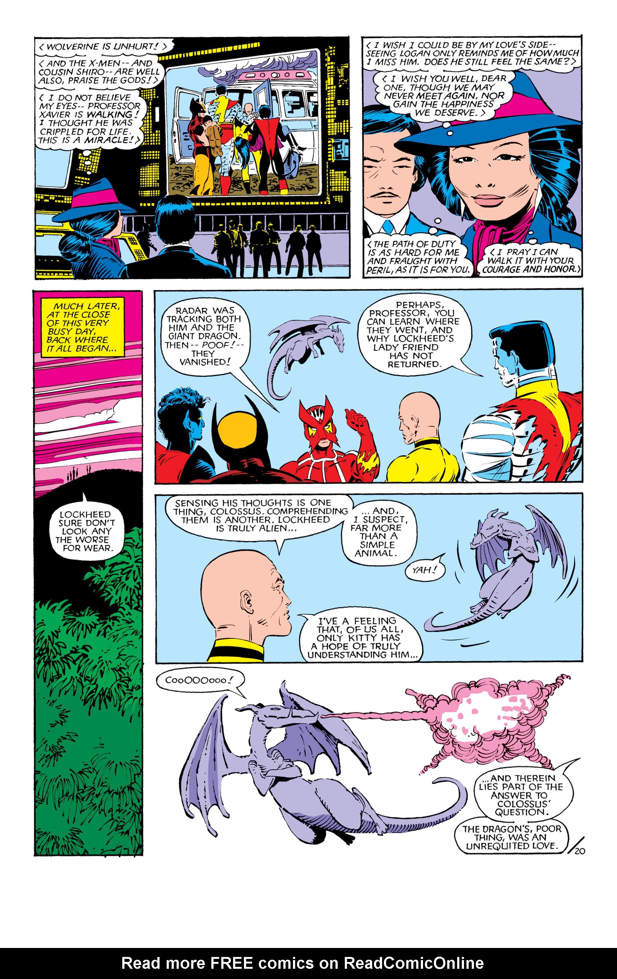 Read online Uncanny X-Men (1963) comic -  Issue #181 - 20
