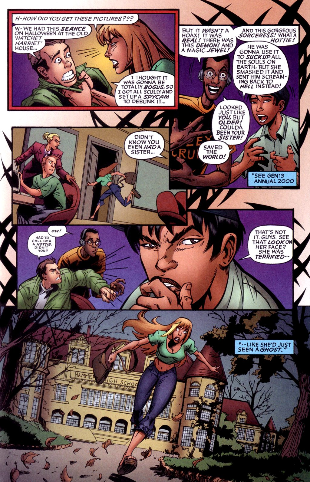 Read online Jezebelle comic -  Issue #1 - 14