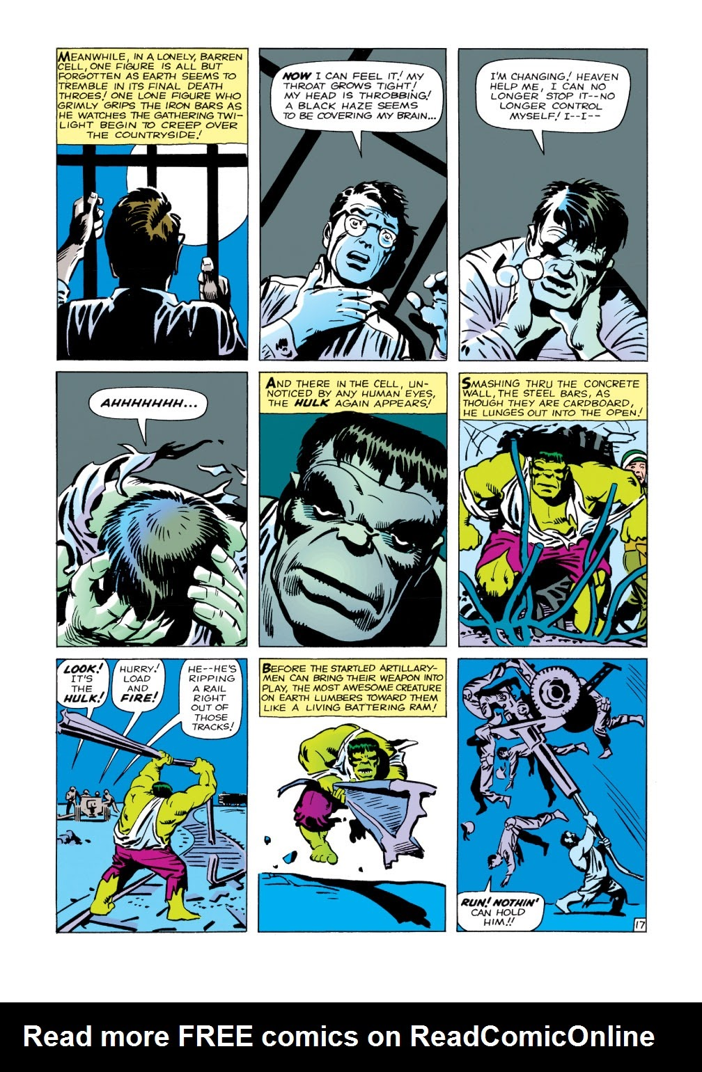 Read online Marvel Masterworks: The Incredible Hulk comic -  Issue # TPB 1 (Part 1) - 45