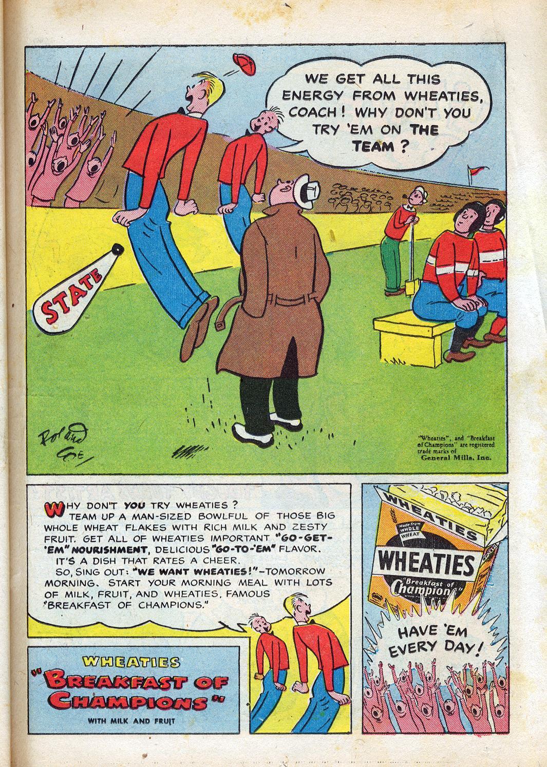 Read online Sensation (Mystery) Comics comic -  Issue #47 - 15