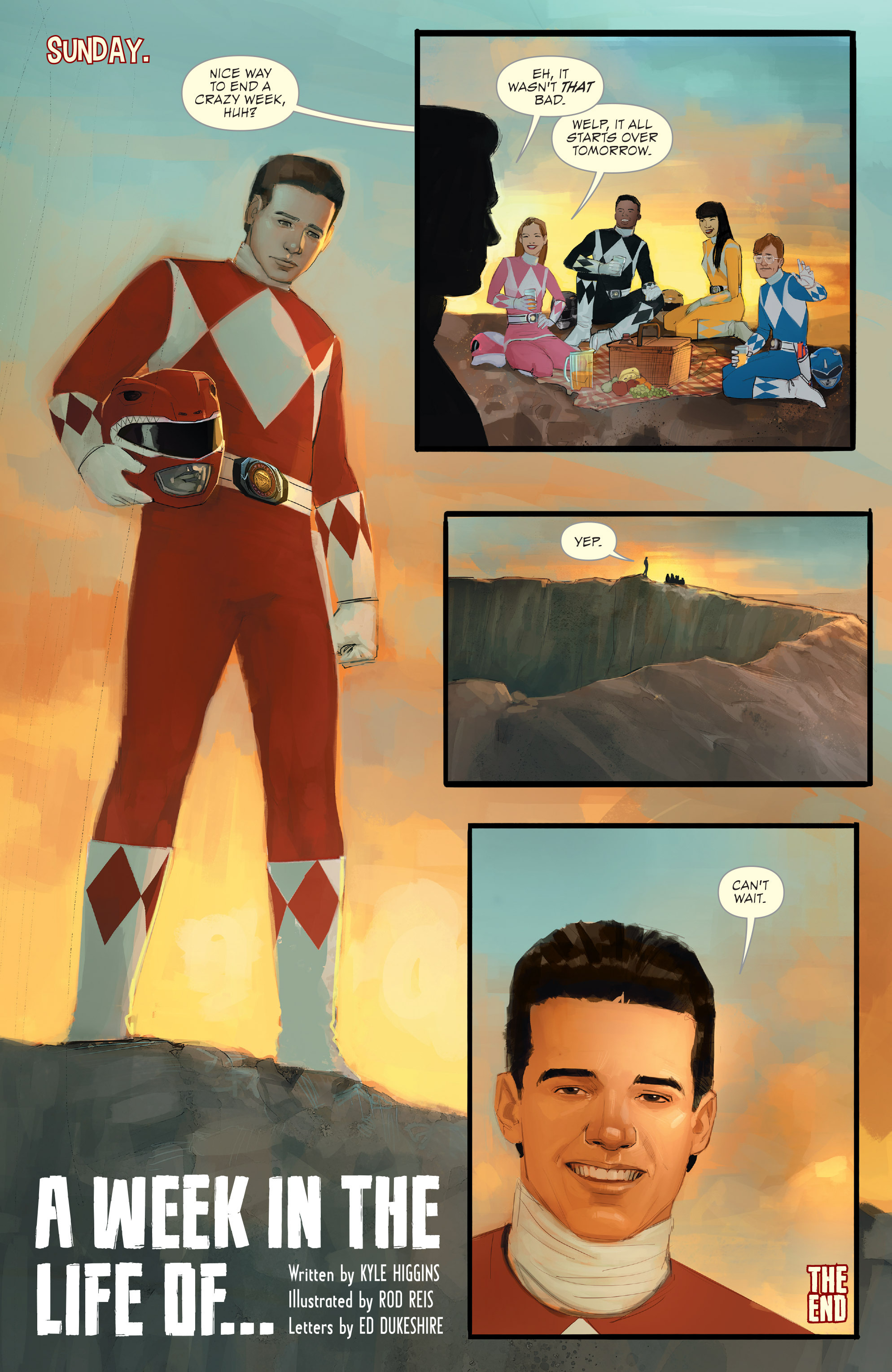 Read online Mighty Morphin Power Rangers comic -  Issue # _Annual 1 - 8