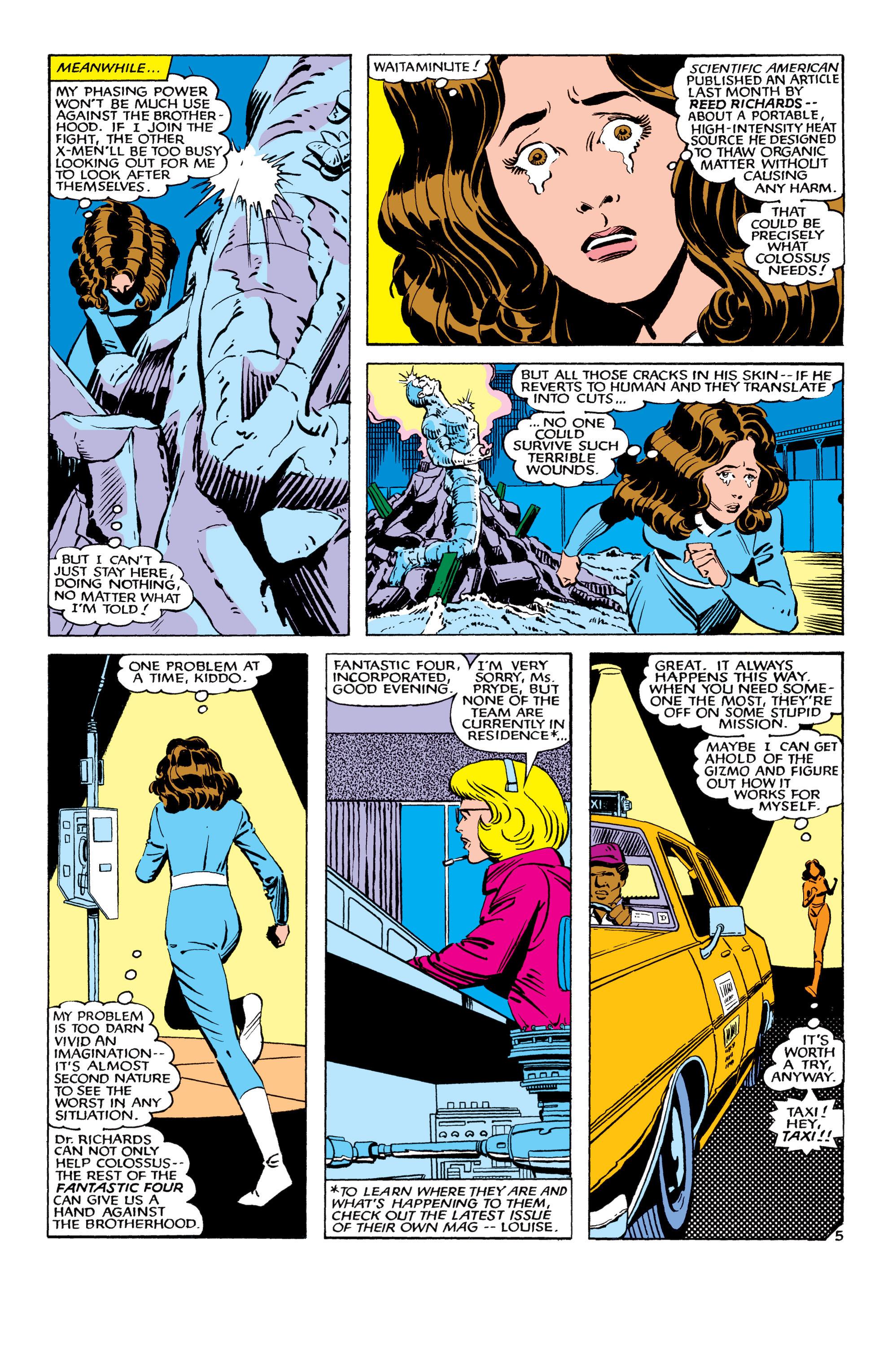 Read online Uncanny X-Men (1963) comic -  Issue #178 - 6