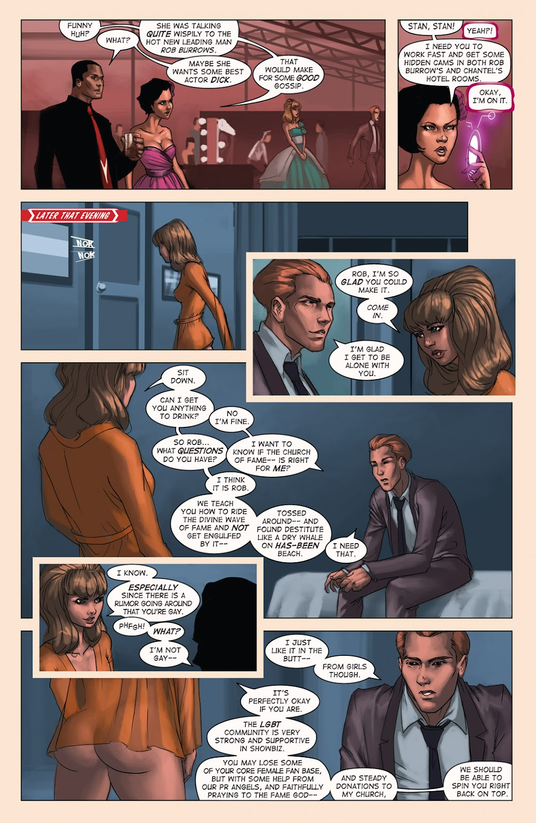 Read online Vescell comic -  Issue #4 - 19