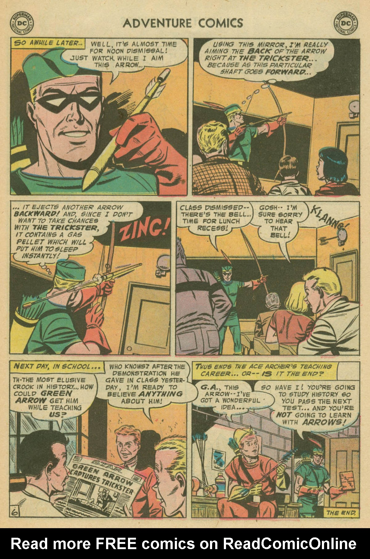 Read online Adventure Comics (1938) comic -  Issue #239 - 23