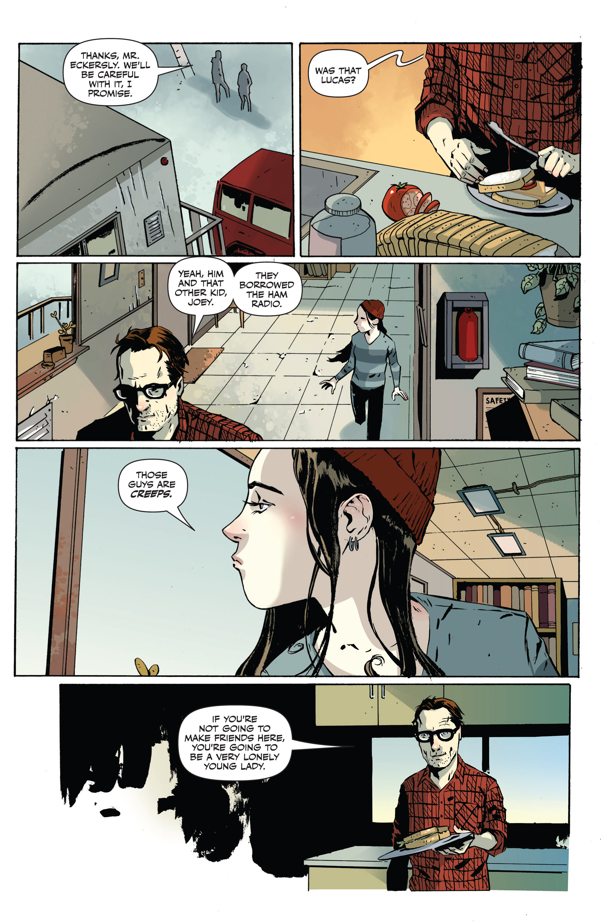Read online Sheltered comic -  Issue #1 - 9