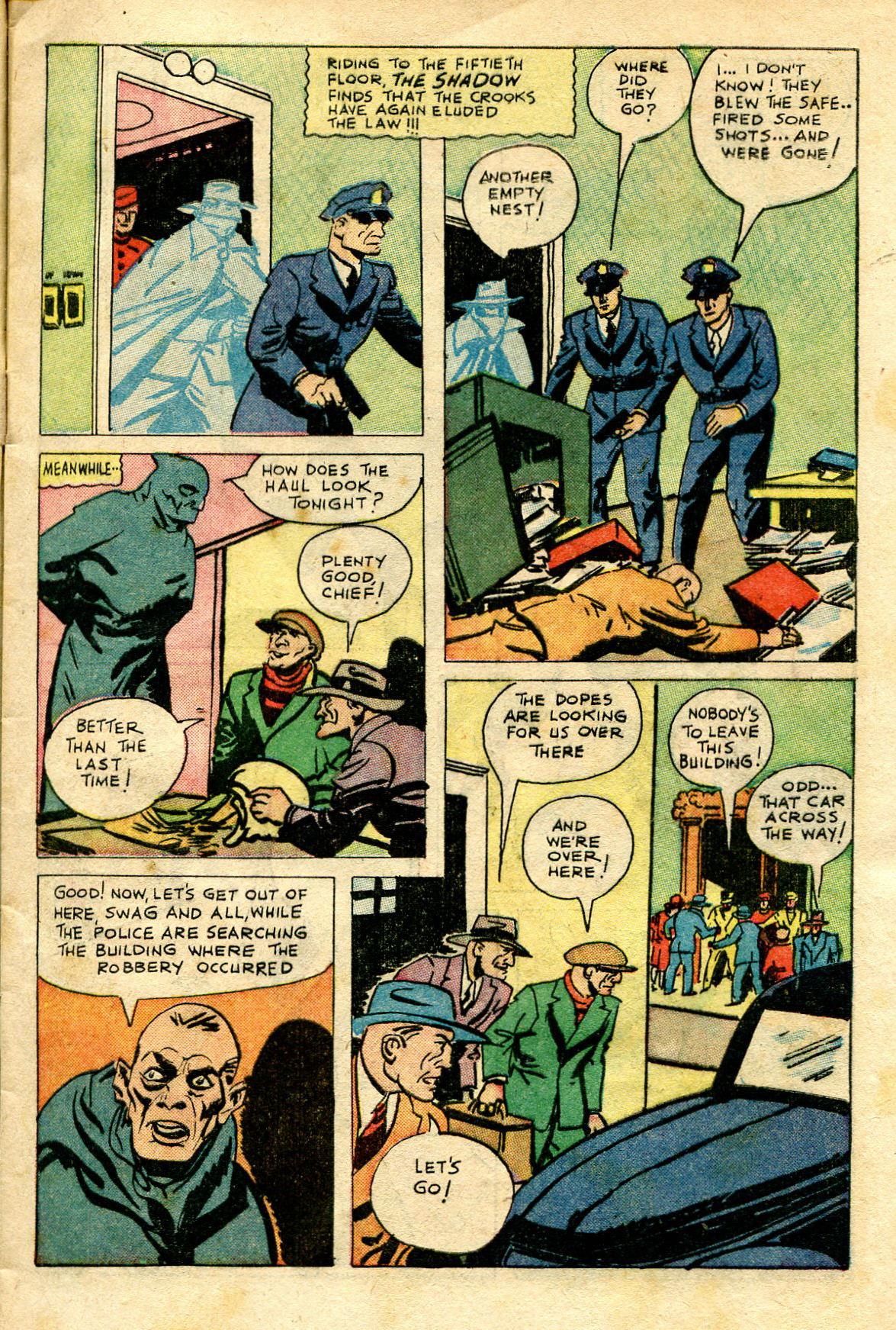 Read online Shadow Comics comic -  Issue #65 - 13