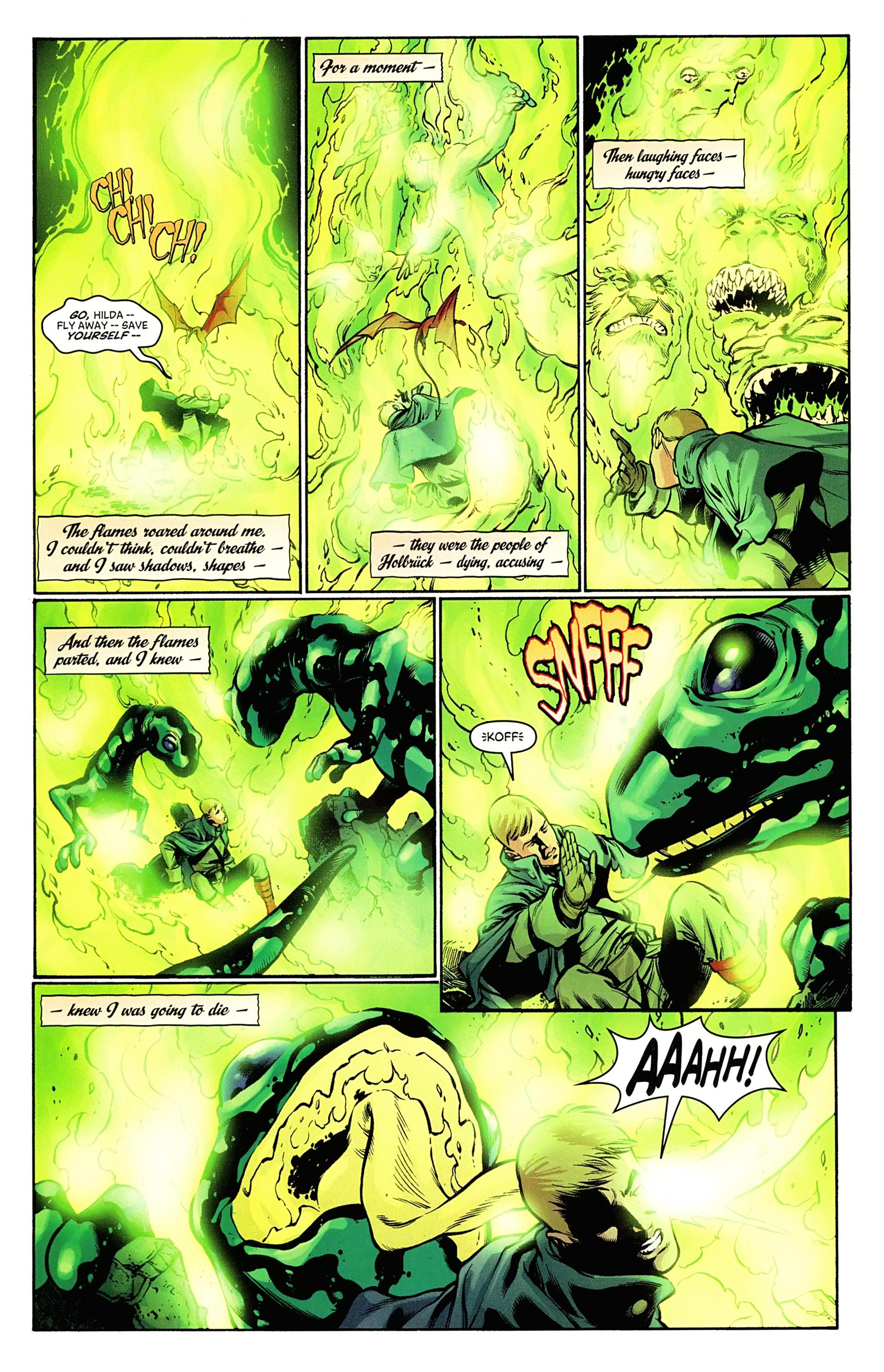 Read online Arrowsmith comic -  Issue #5 - 17